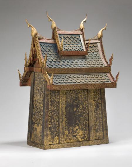 Miniature Temple; Thailand; 1850-1900; Asian Art Museum