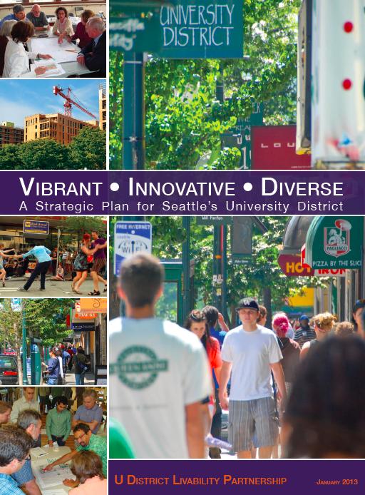 University District Strategic Plan    Seattle, WA