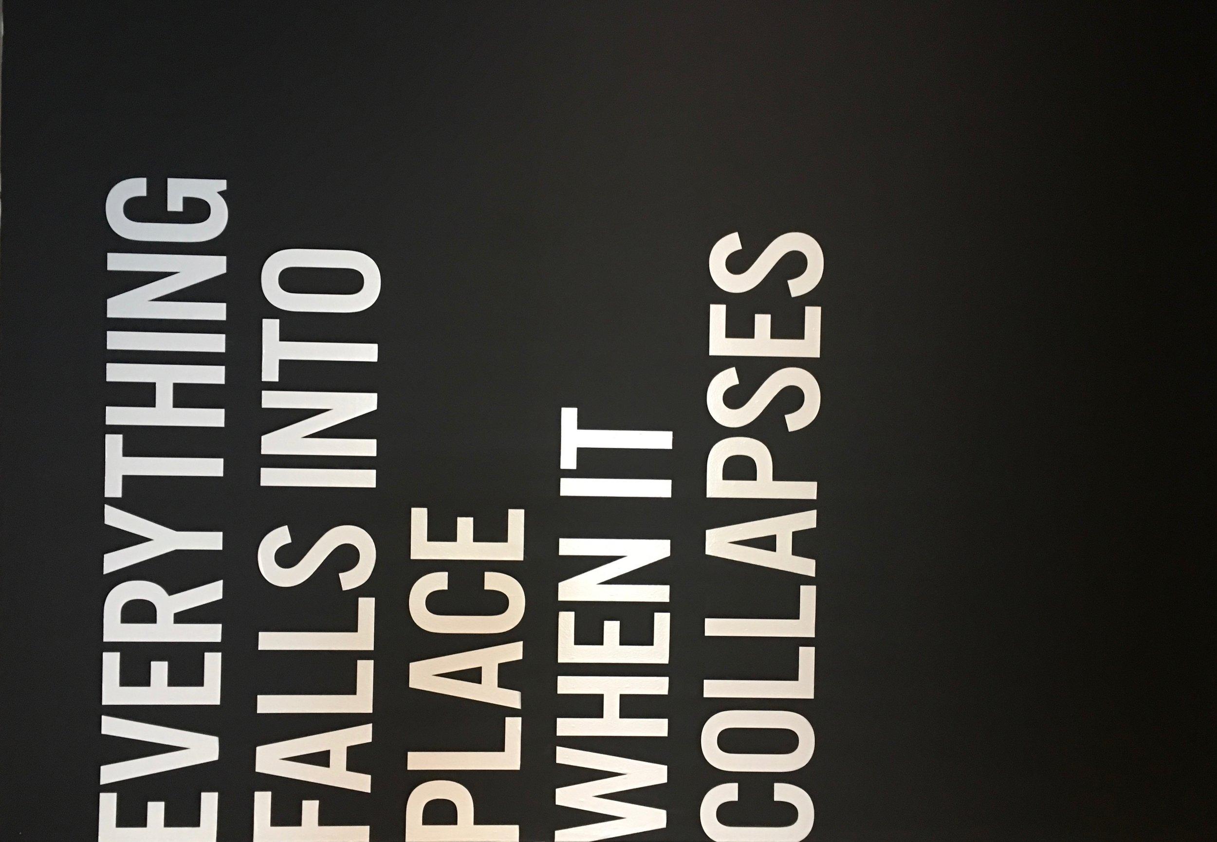 Scottsdale Museum of Contemporary Art: Santiago Borja exhibition graphics