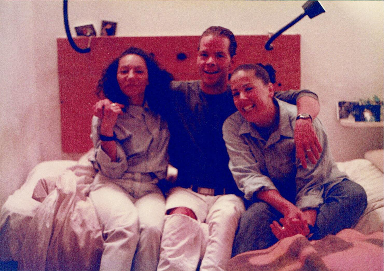 Annarita, Michael and Lisa.