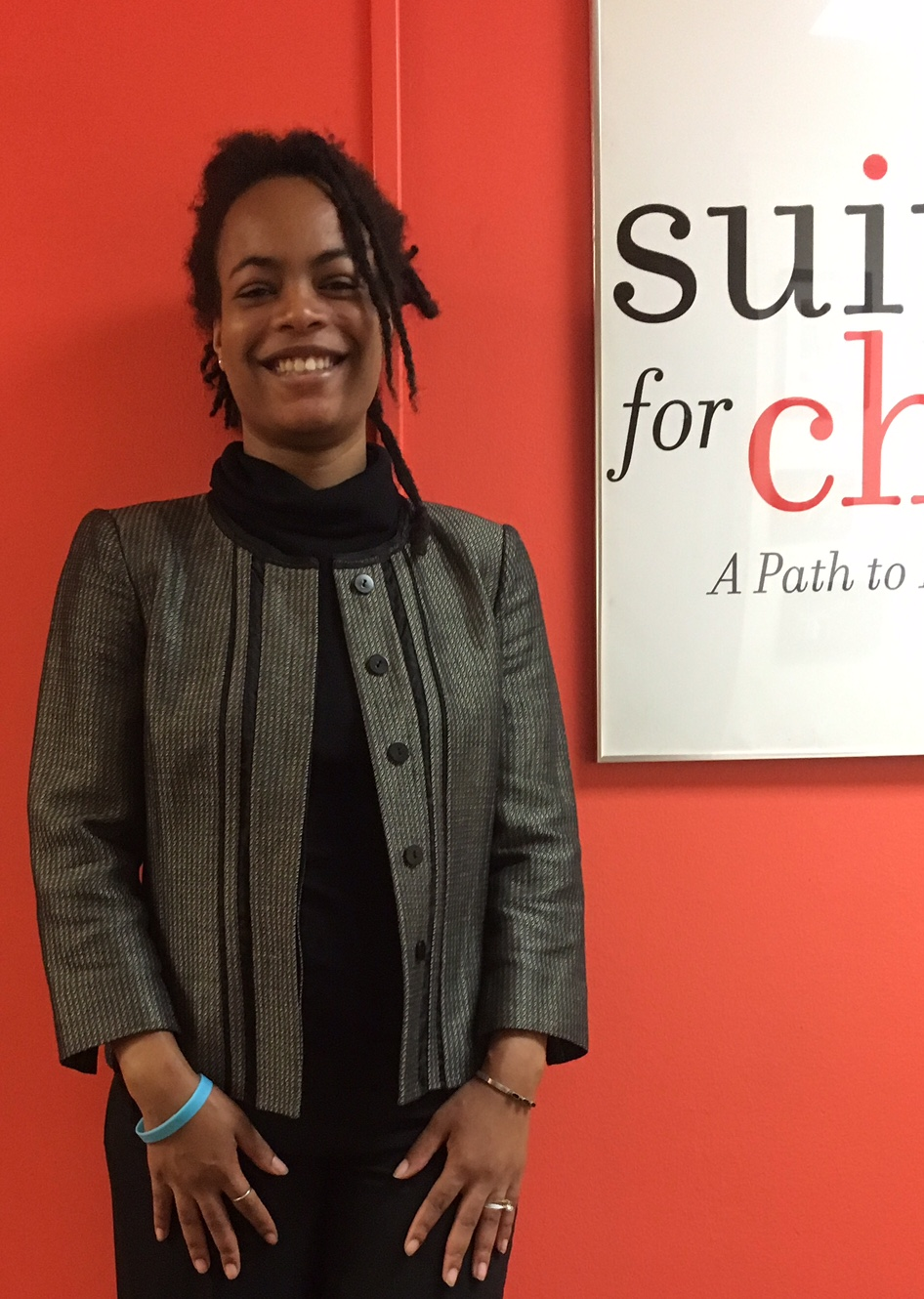 Client at Suited for Change (Washington, D.C.)