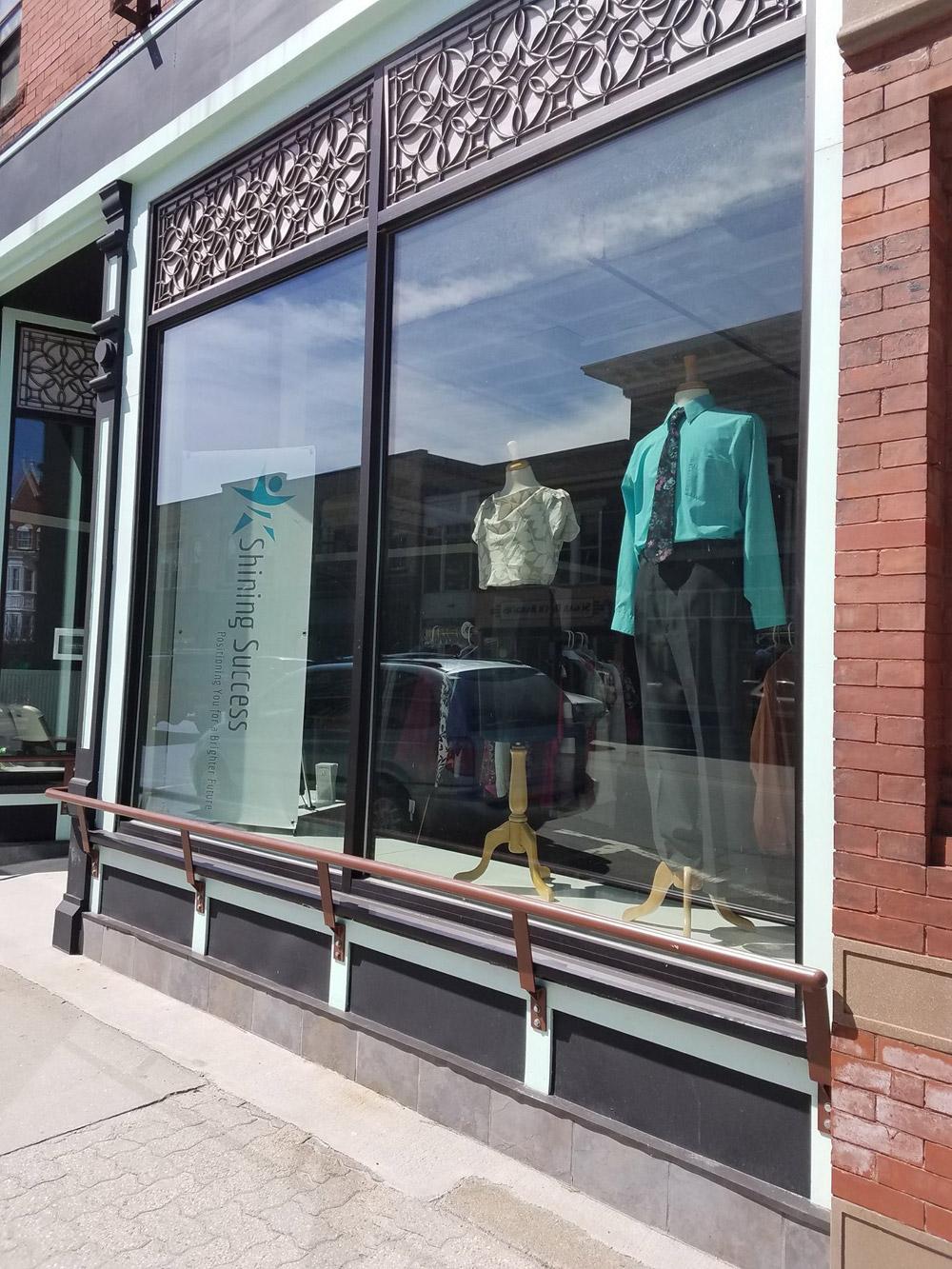 Shining Success, boutique exterior