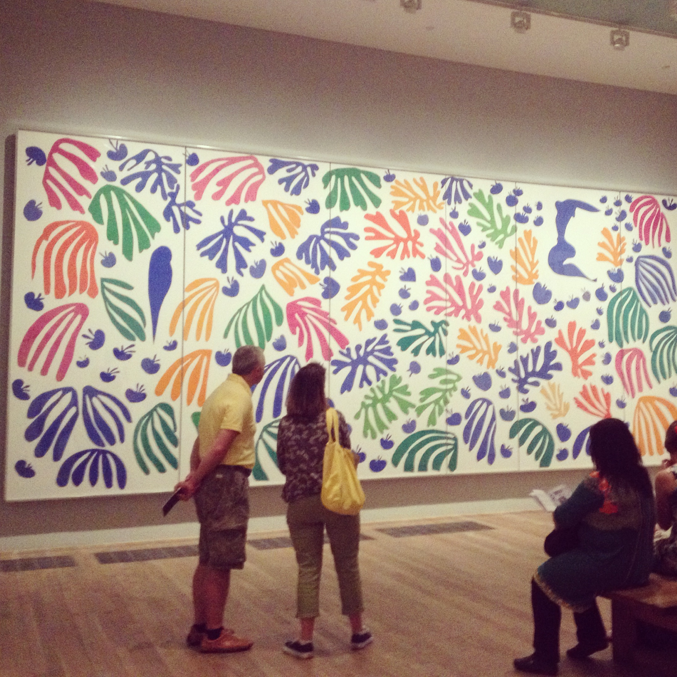 Matisse Exhibition at the Tate.