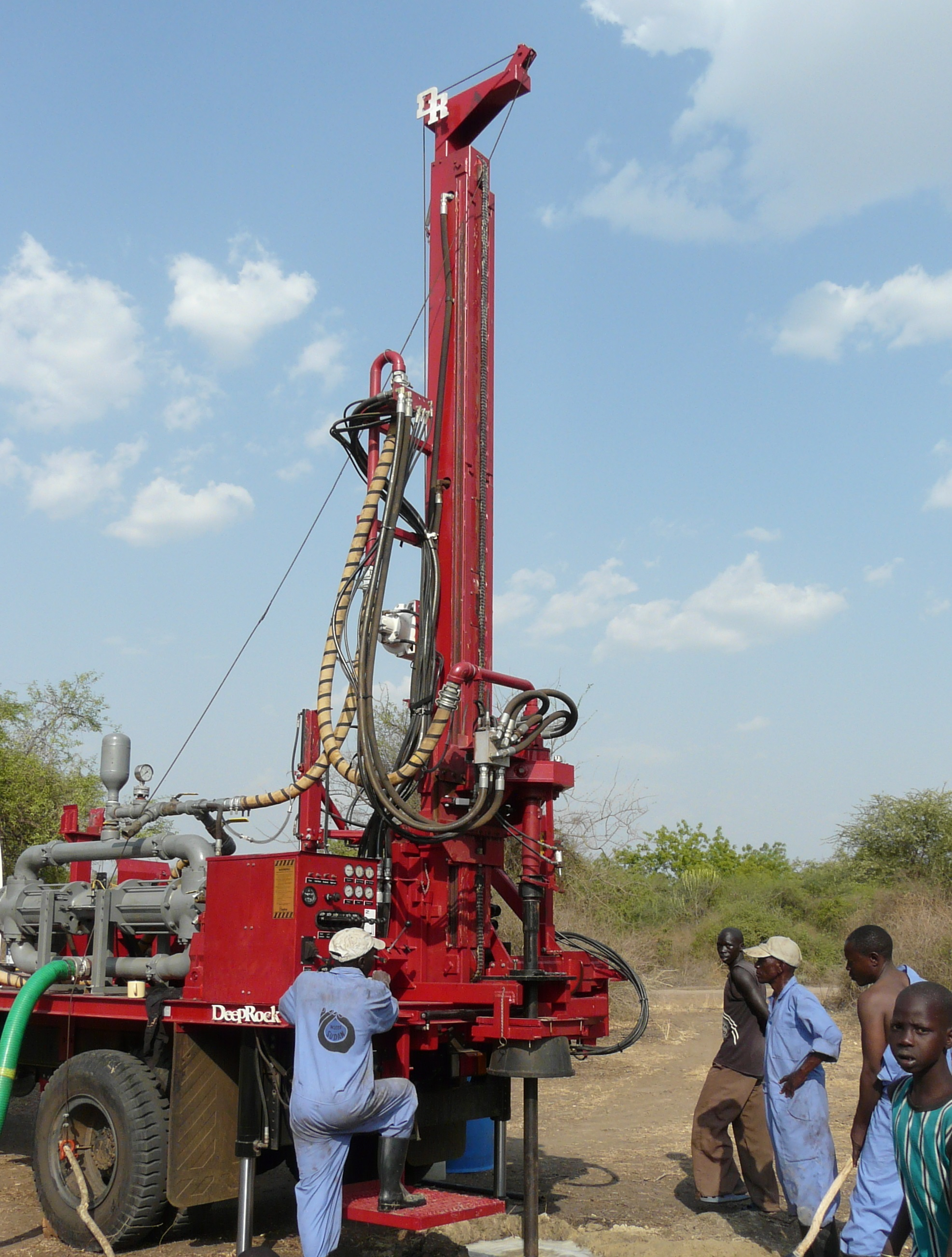 Iron Giraffe drilling rig