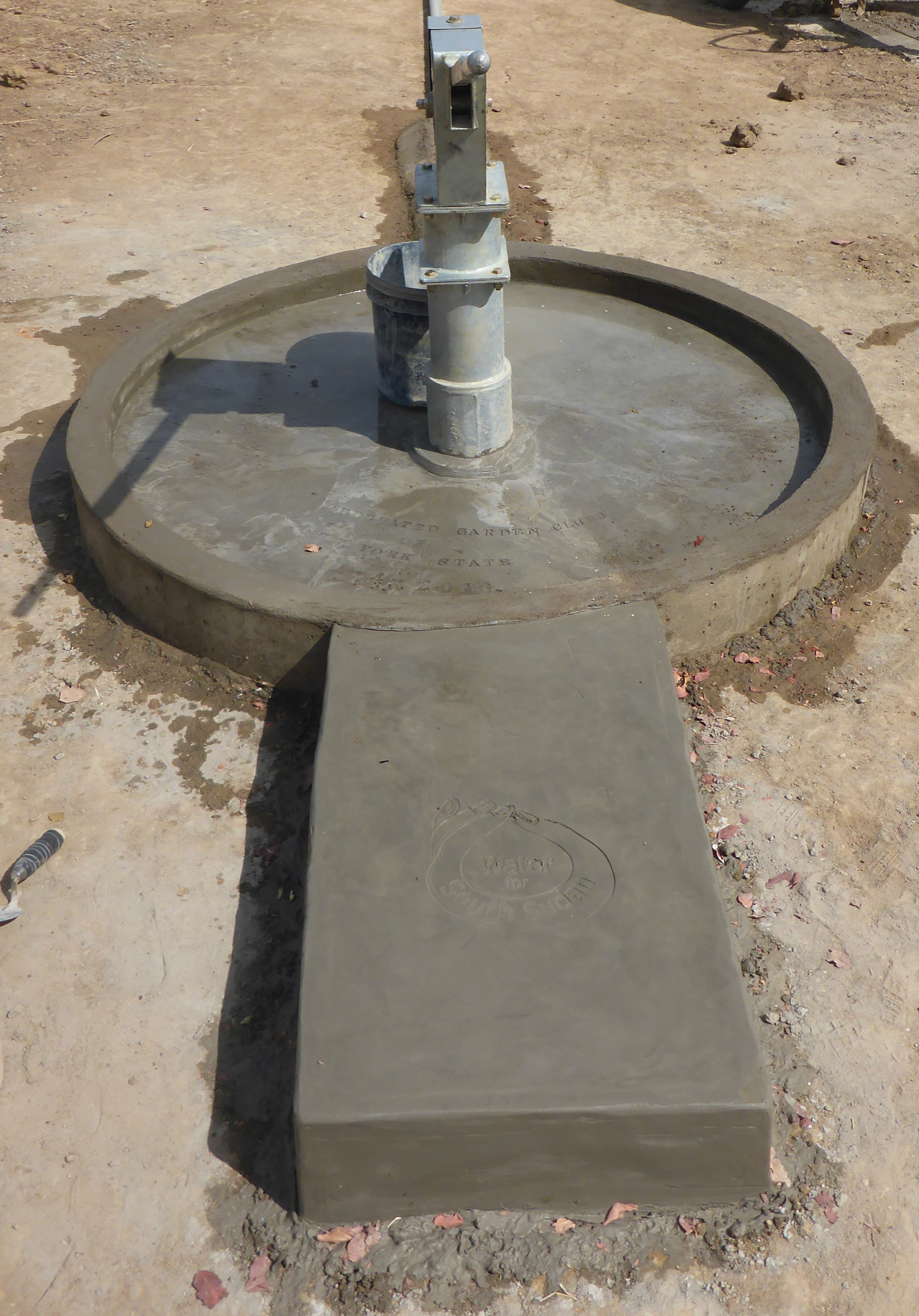 new well installed in 2016