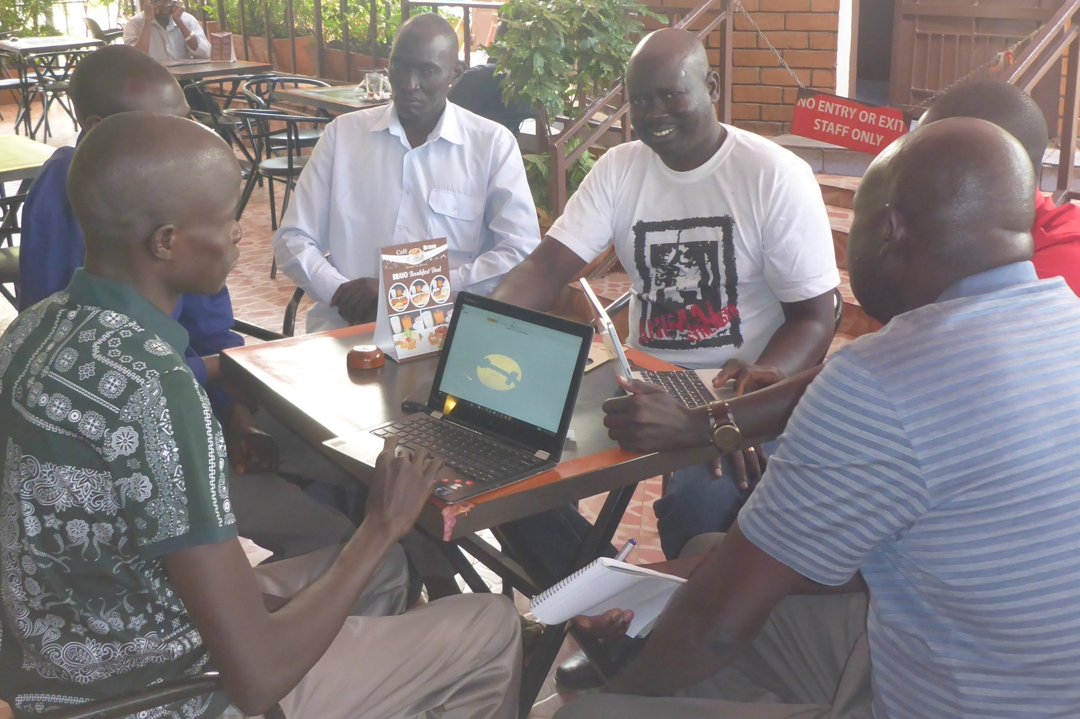 WFSS team at planning meeting in kampala.
