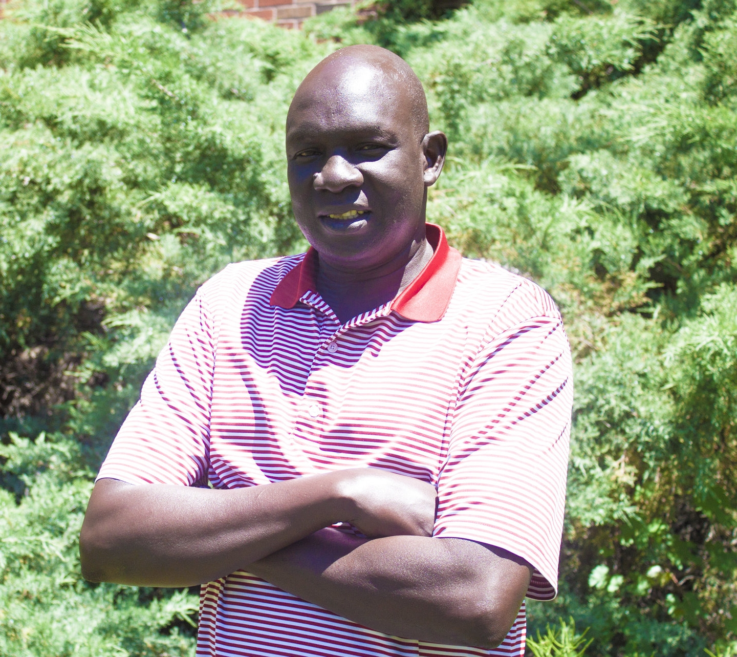 "wfss country director, and former ""lost boy,"" ater akol thiep."