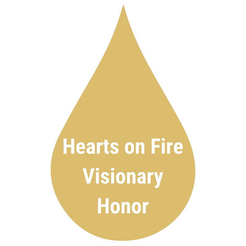 hearts on fire visionary honor