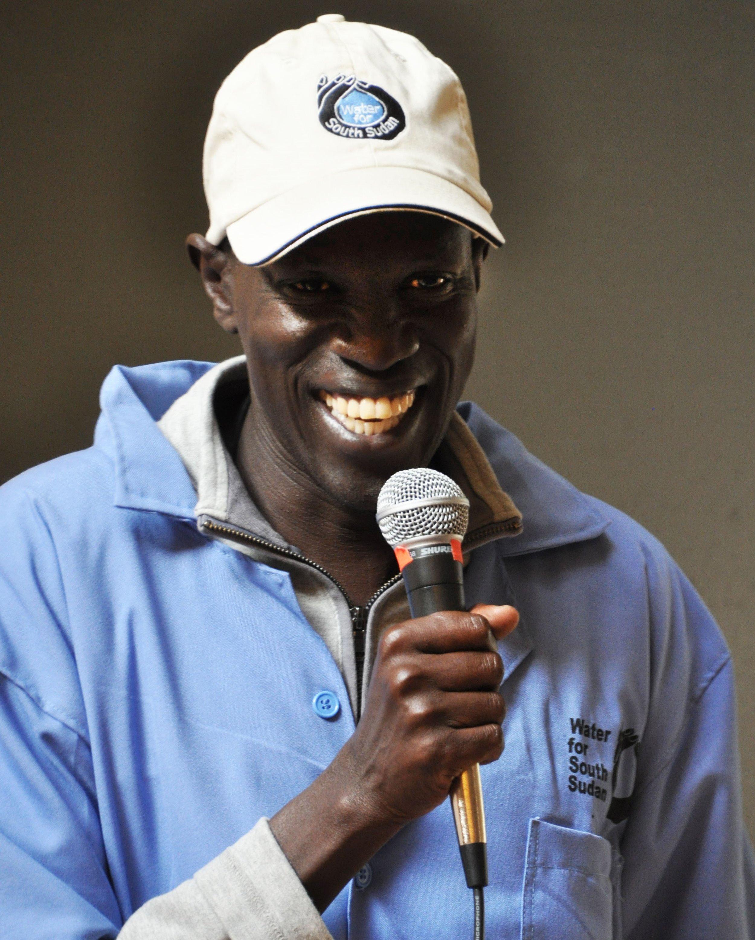 Salva Dut, Founder of Water for South Sudan