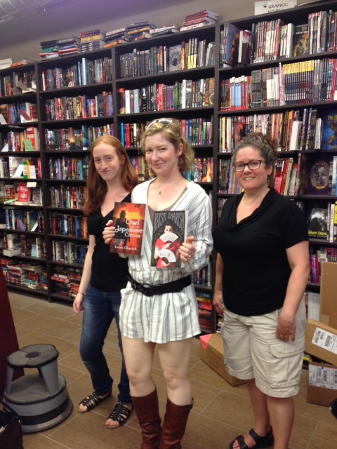 At Bakka Phoenix Books in Toronto. (Photo Alex Renwick)