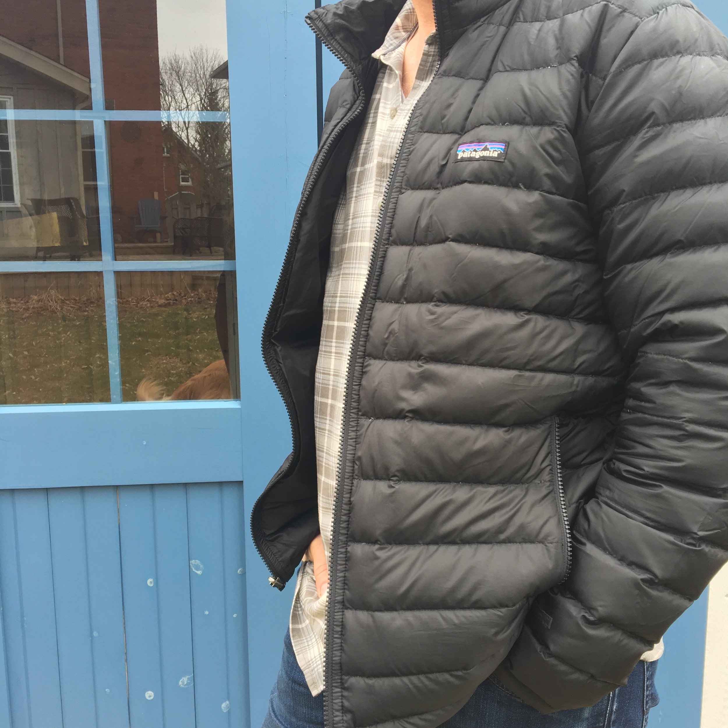 Patagonia 3 in 1 Jacket Inner Lined Jacket.