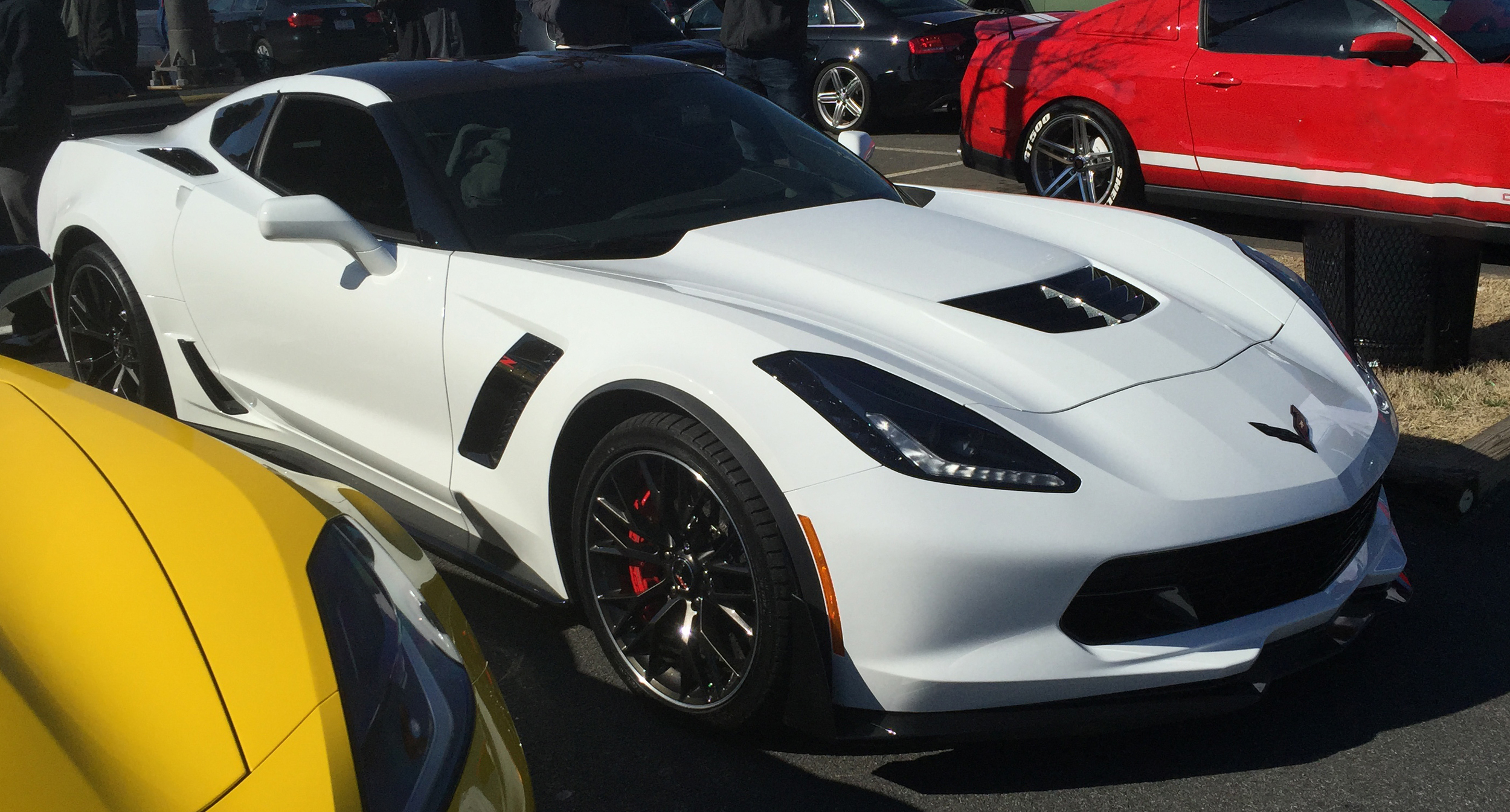 Corvette Z06 #2 from Cars and Coffee Charlotte March 2015