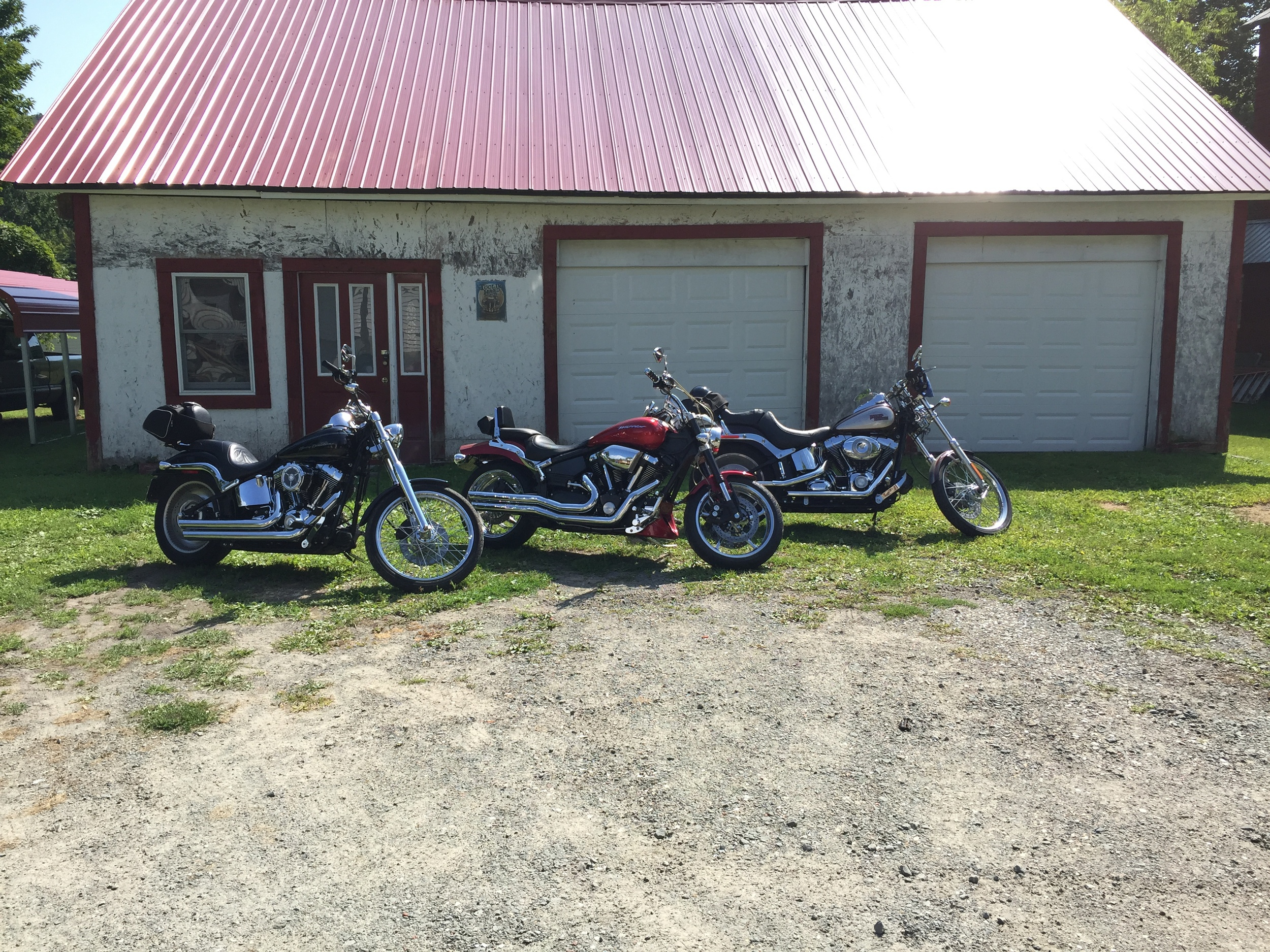 Nice day ride in PA with my Uncle and two of his friends.