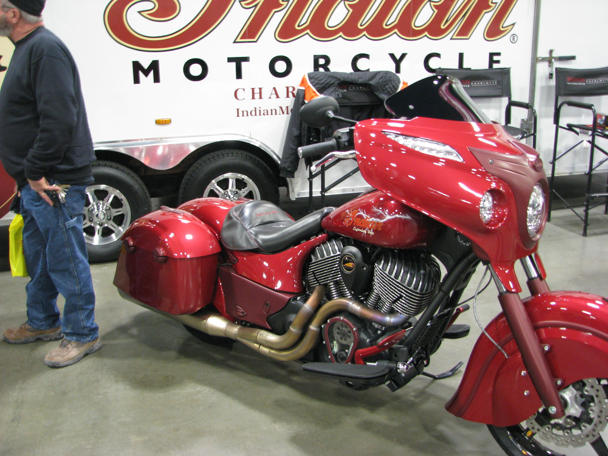 Indian Lighting Bolt from Indian Motorcycles of Charlotte