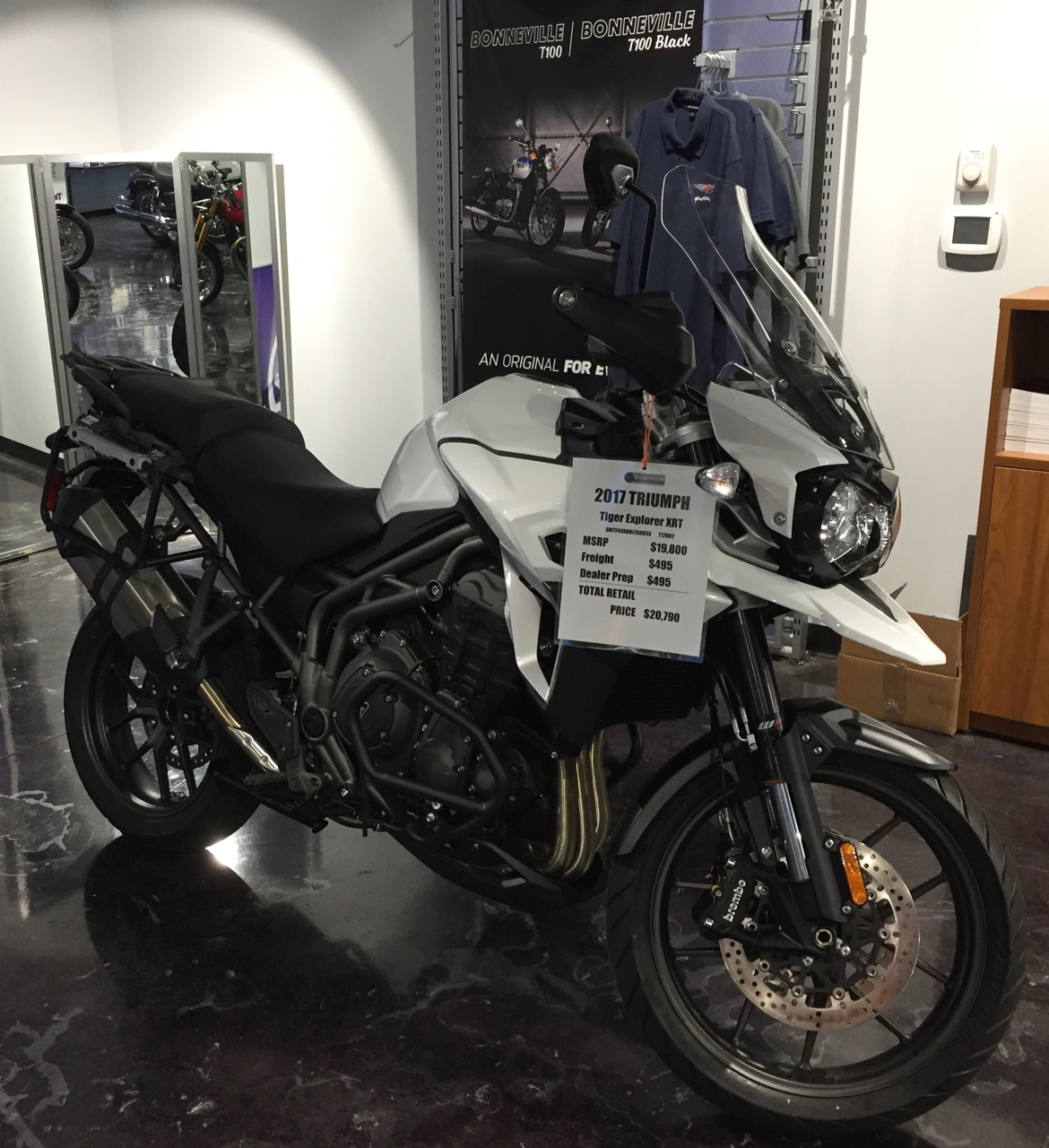Triumph Tiger Explorer XRT @ Motorcycles of Charlotte