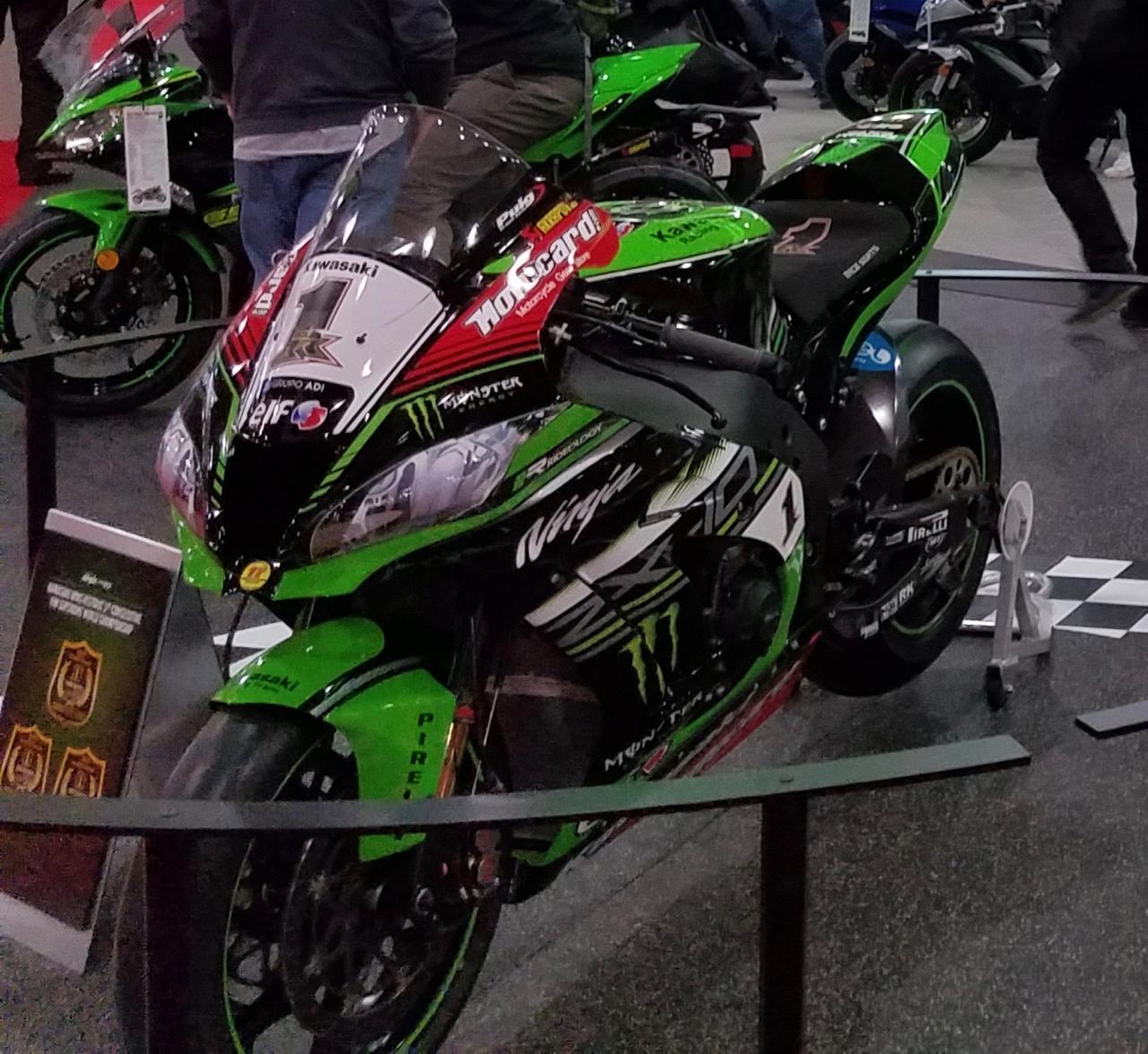 Jonathan Rae Kawasaki ZX10RR World Superbike
