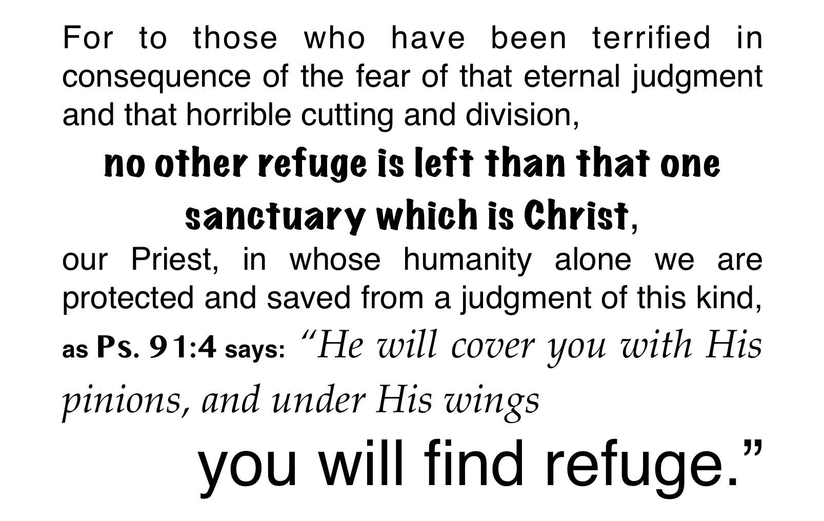 Martin Luther on Hebrews 4:14