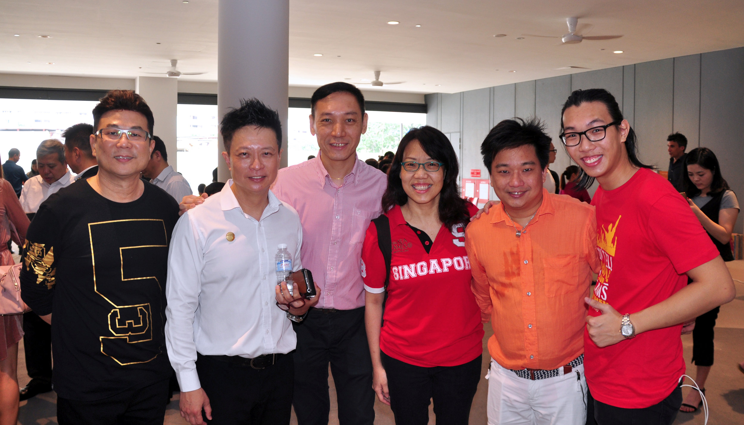 Group photo at SG100 Carnival