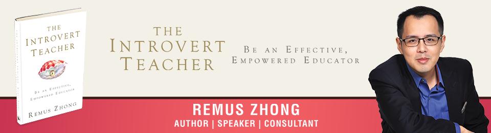 The Introvert Teacher Banner