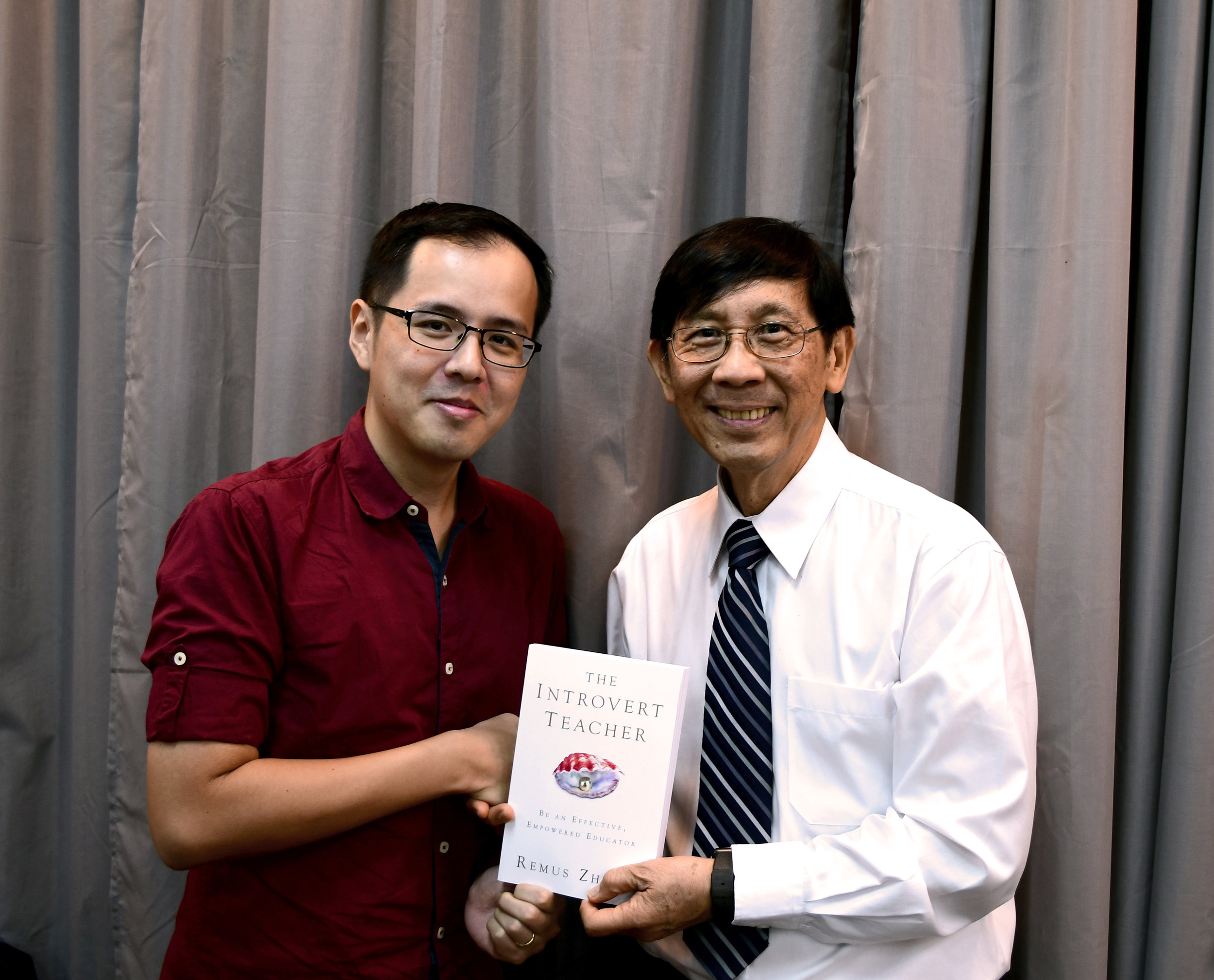 With Dr. Andrew Goh