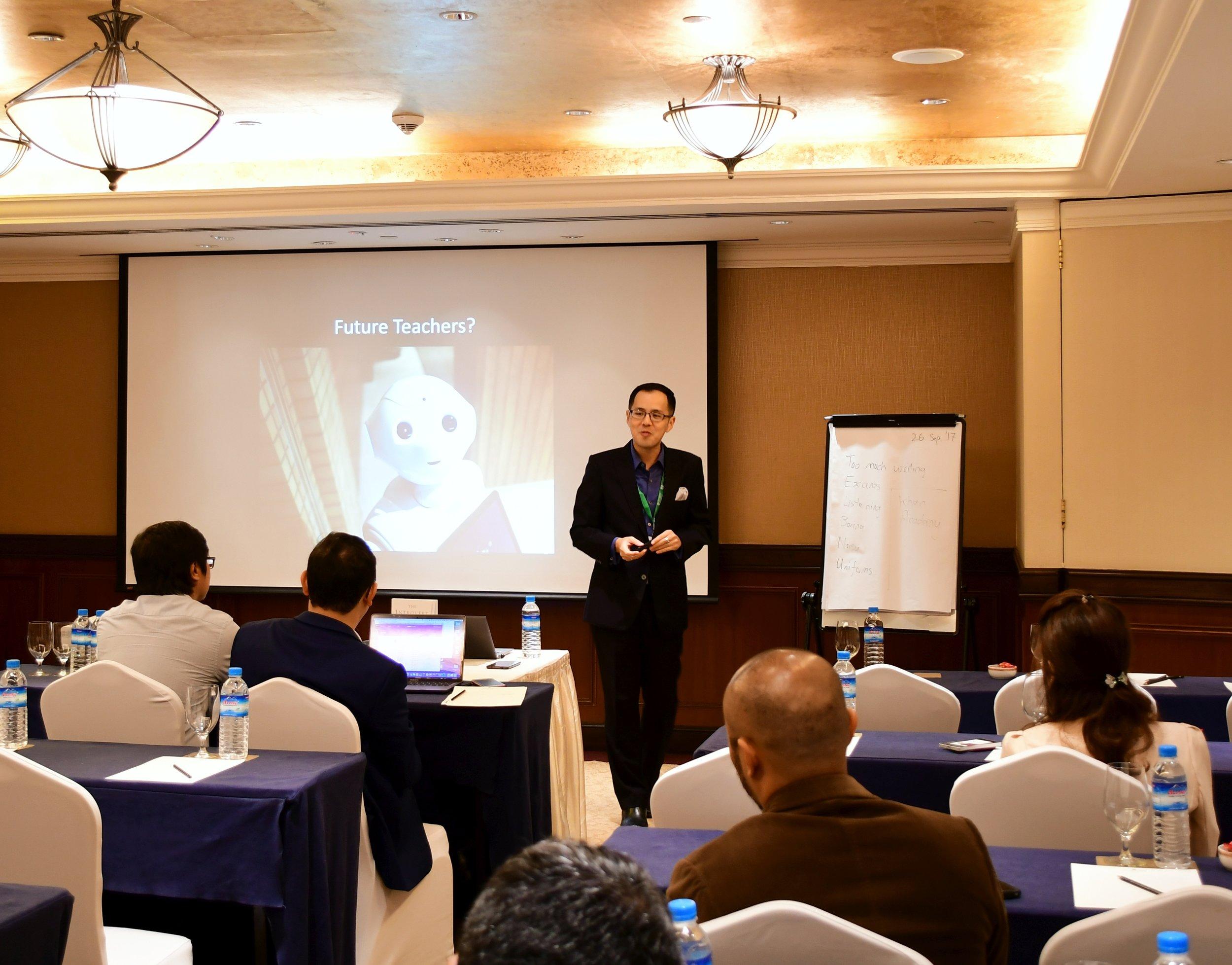 Presenting in Yangon