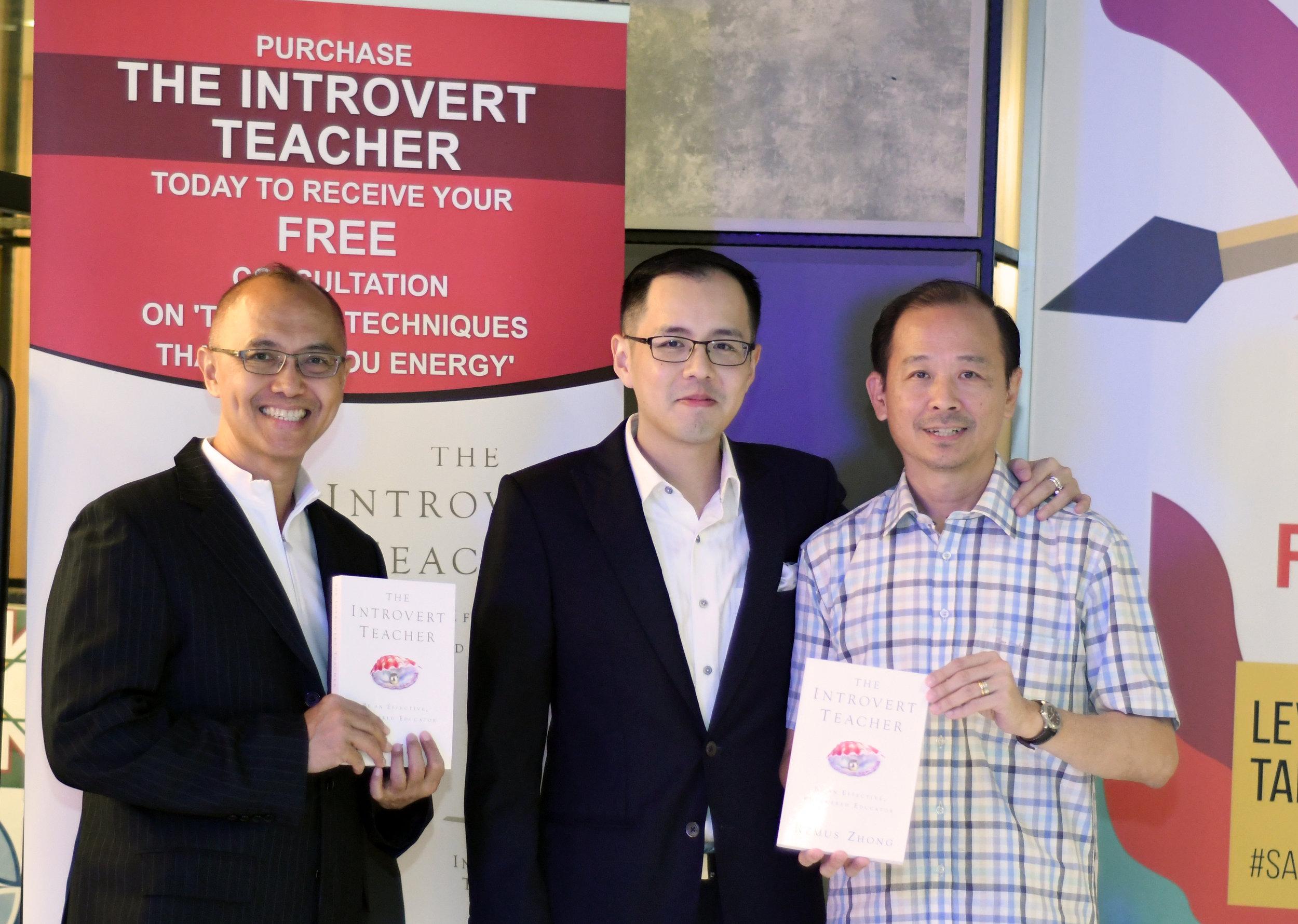 With Kok Kwang and  Mervin Yeo