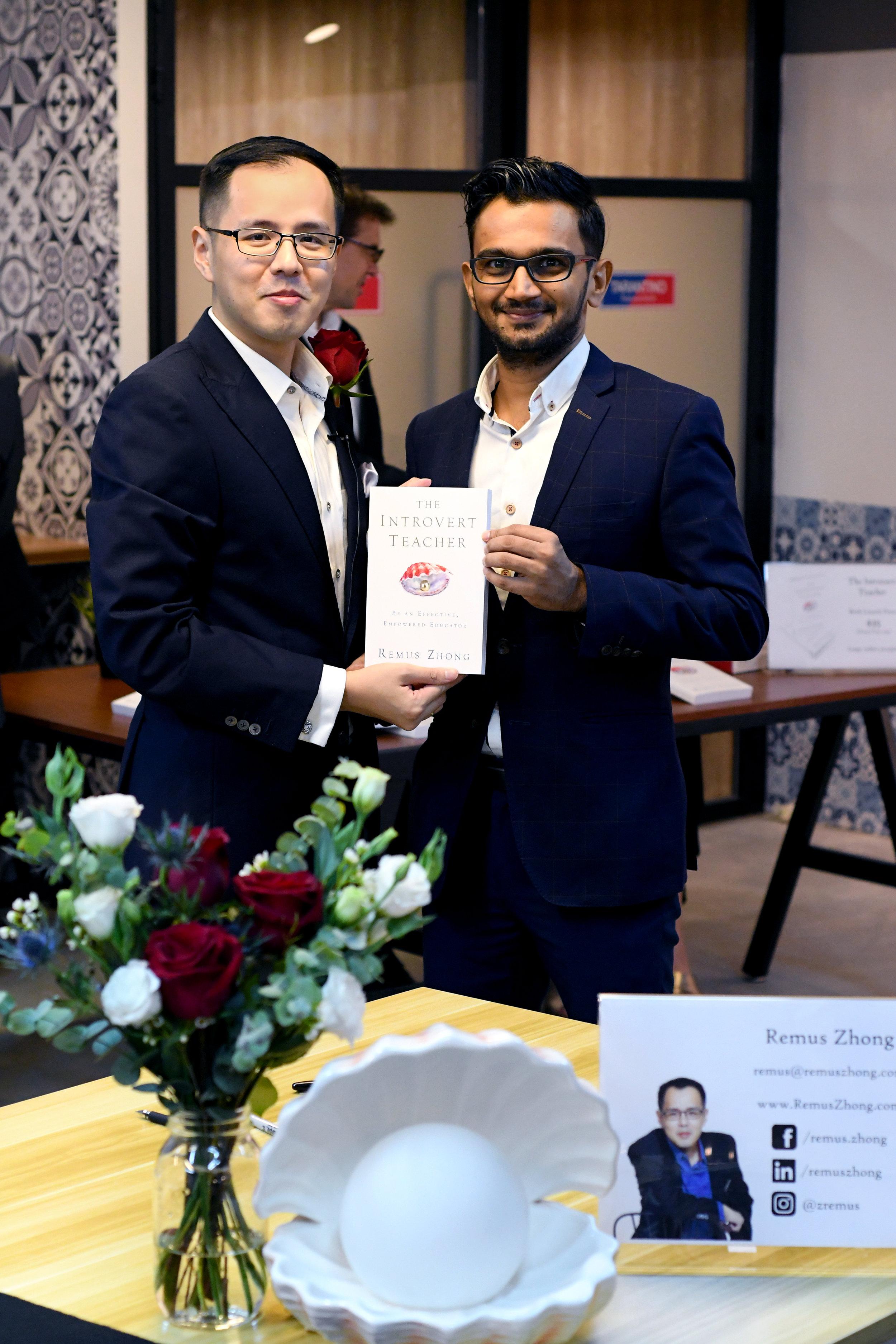 With Kalyan Bhatlapenumerthy