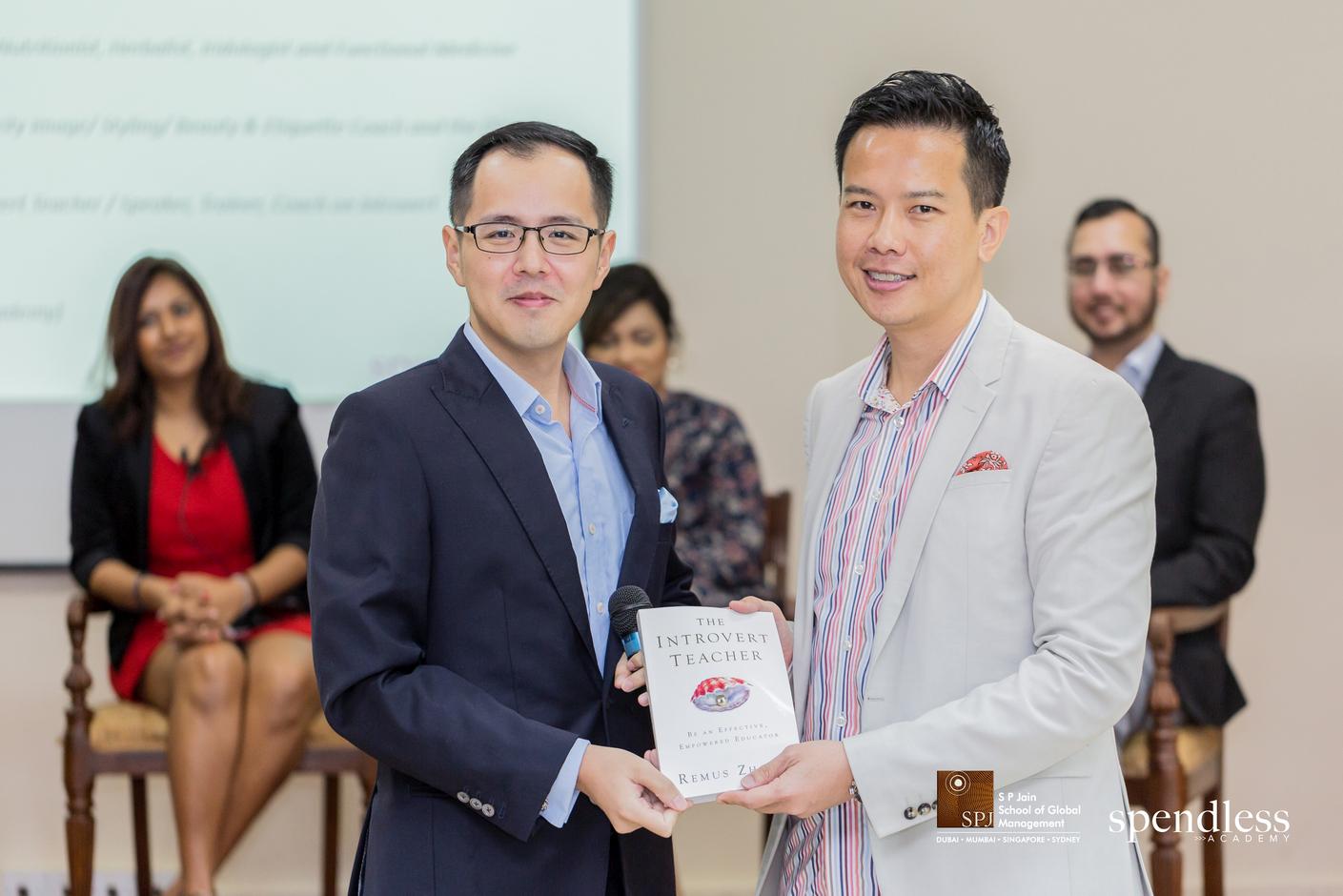 Dr. John Fong, Head of Campus -  S P Jain School of Global Management