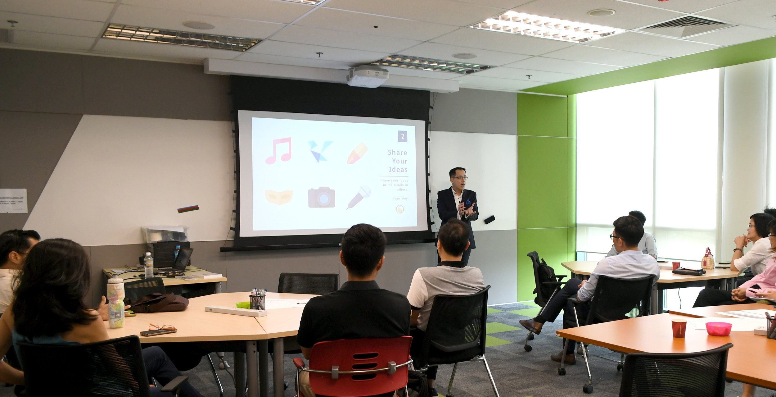 Introversion - Speaking in Singapore at LLI