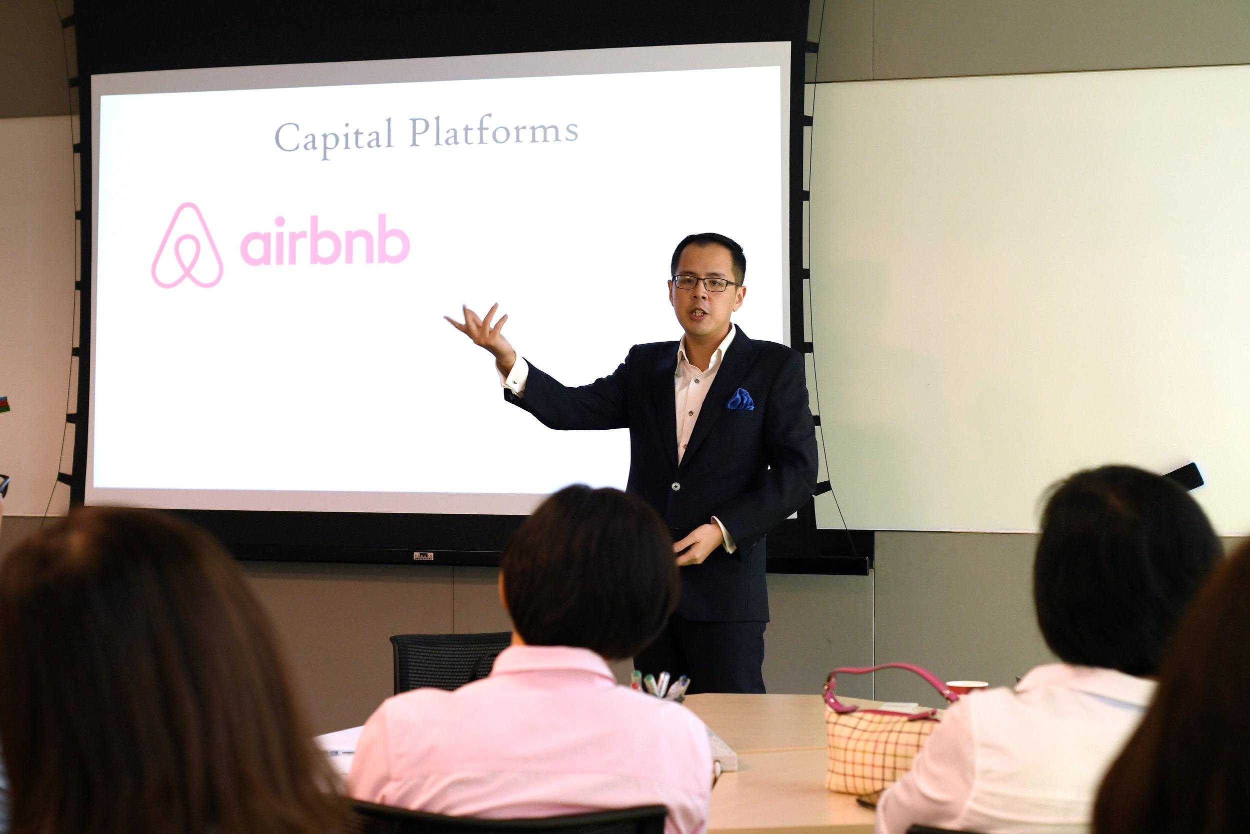 Gig Economy - Speaking in Singapore at LLI