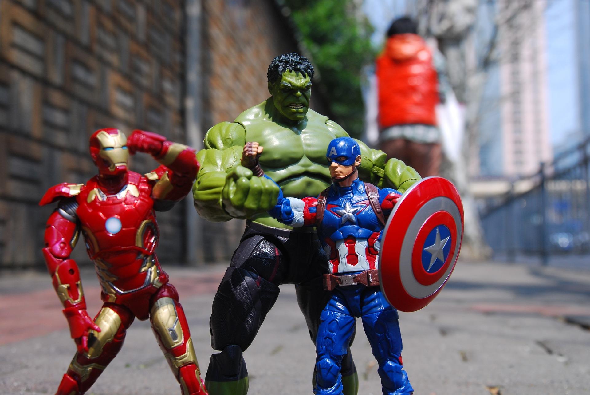 Avengers in Shanghai