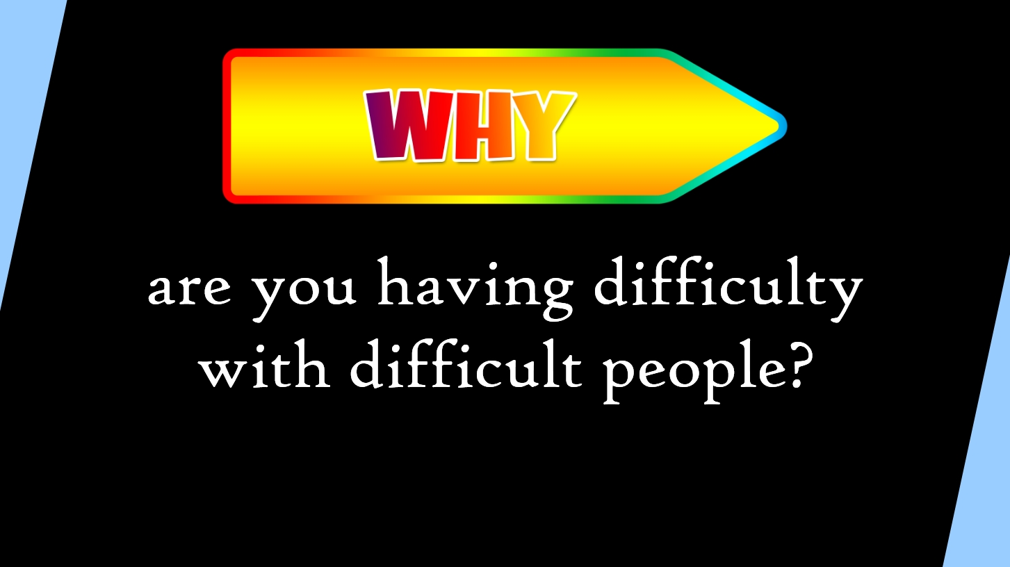How to Deal With Difficult People Slide 04