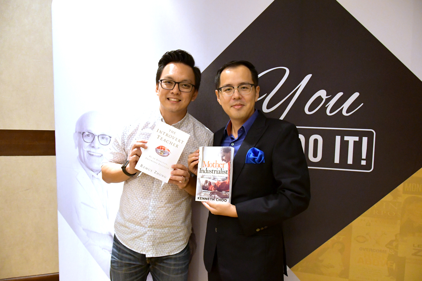 Kenneth Choo , Author of  Mother Industrialist
