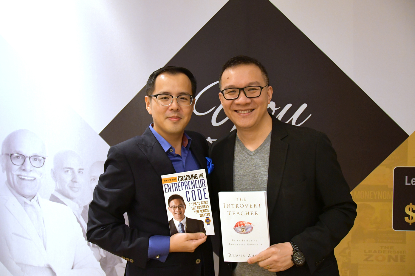 Jack Wong , Author of  Cracking the Entrepreneur Code