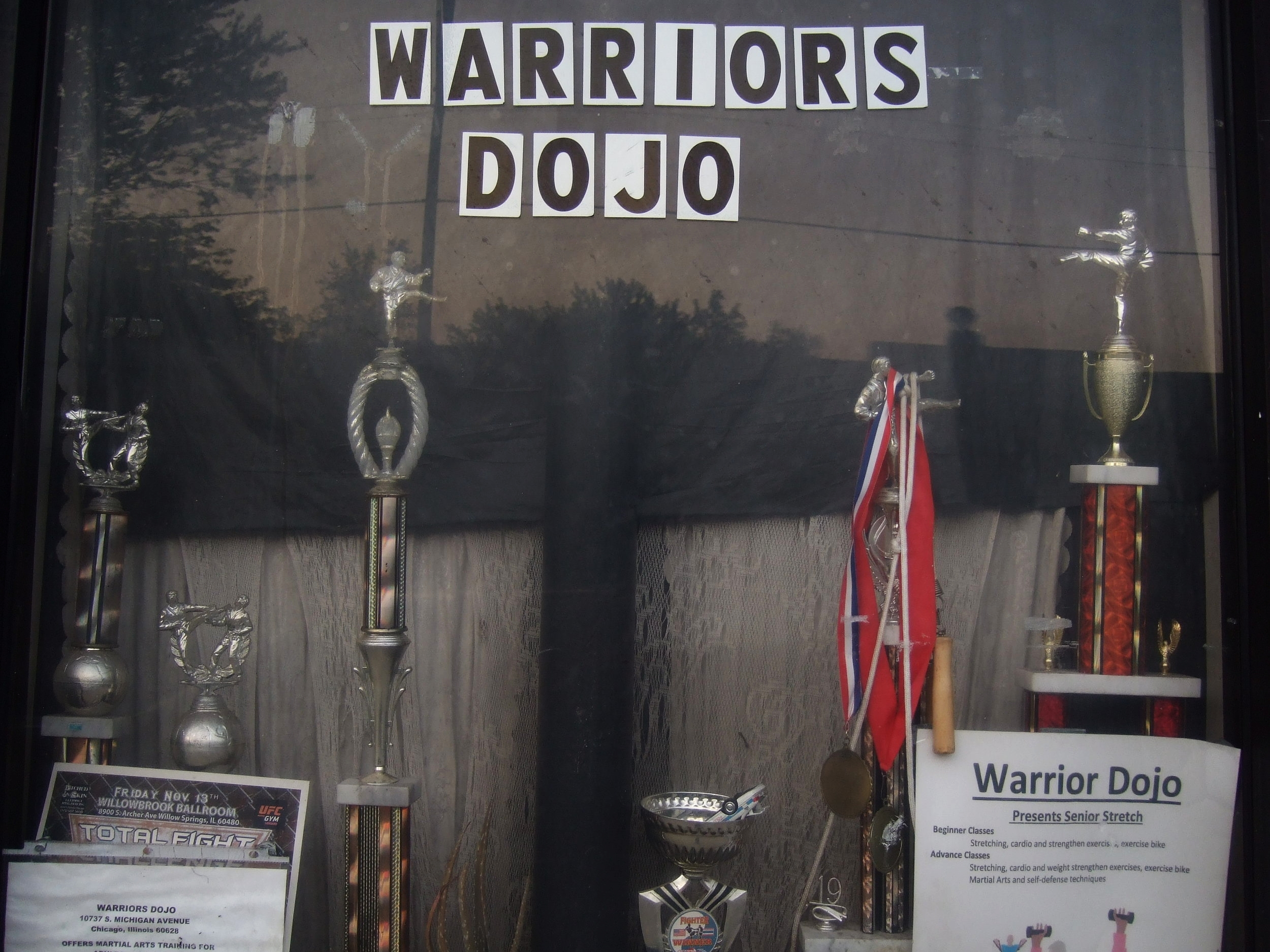Warriors Dojo, located at 10767 S. Michigan Ave. in Chicago