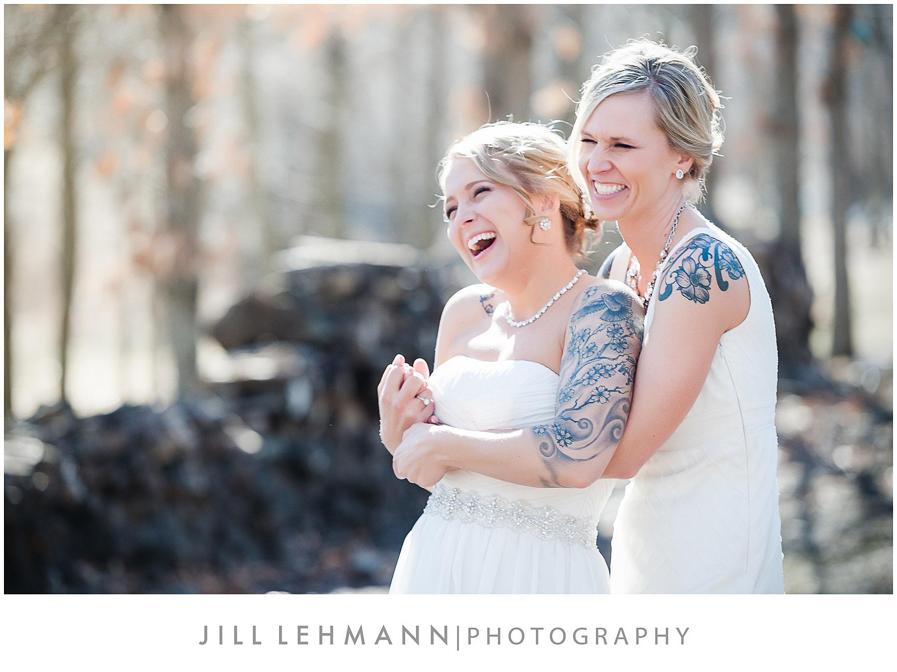 © Jill Lehmann Photography - Gay | Lesbian | Same-Sex Wedding Photography in Des Moines, IA
