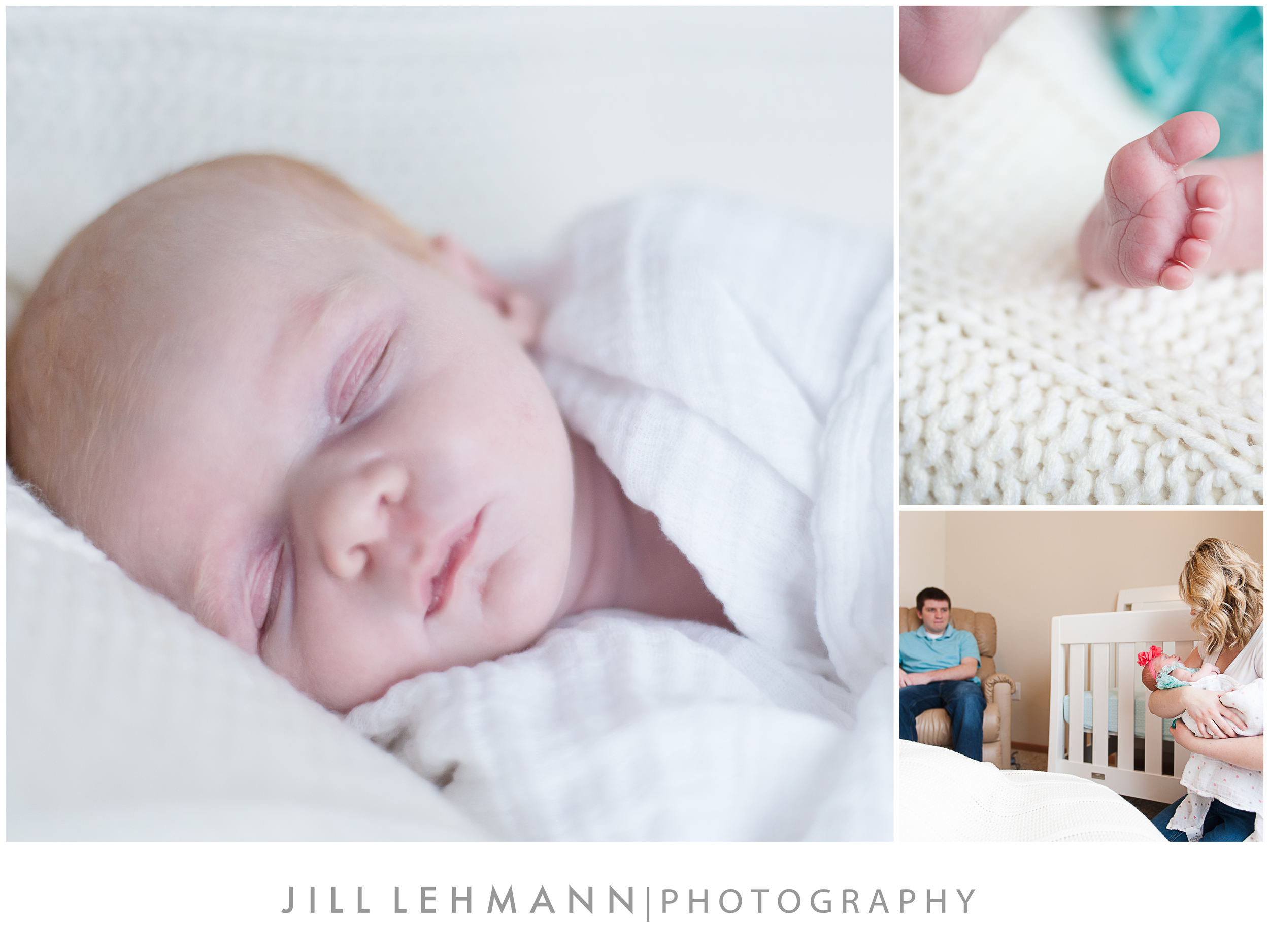 © Jill Lehmann Photography - Baby, Newborn Photography in Des Moines, IA