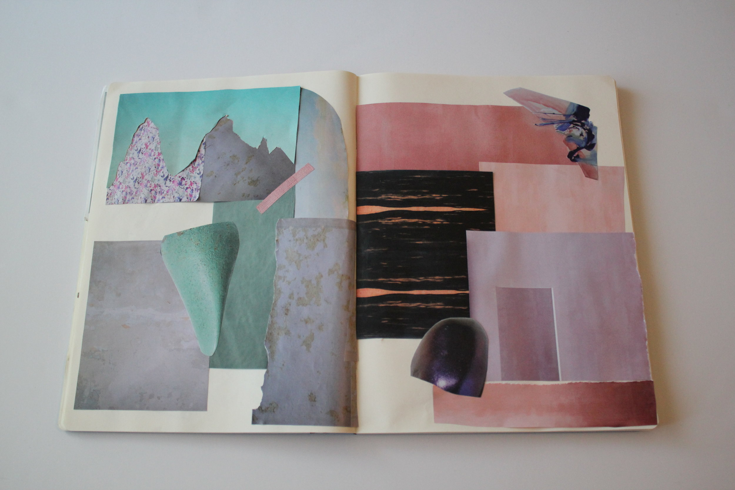 sophia n. ahmad color journal