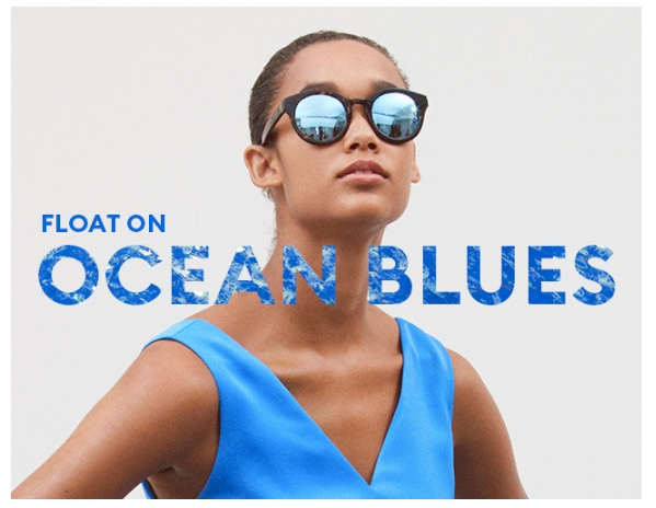 Banana Republic Color Guru In-House Jenn Costantino Ocean Blues Summer 2018