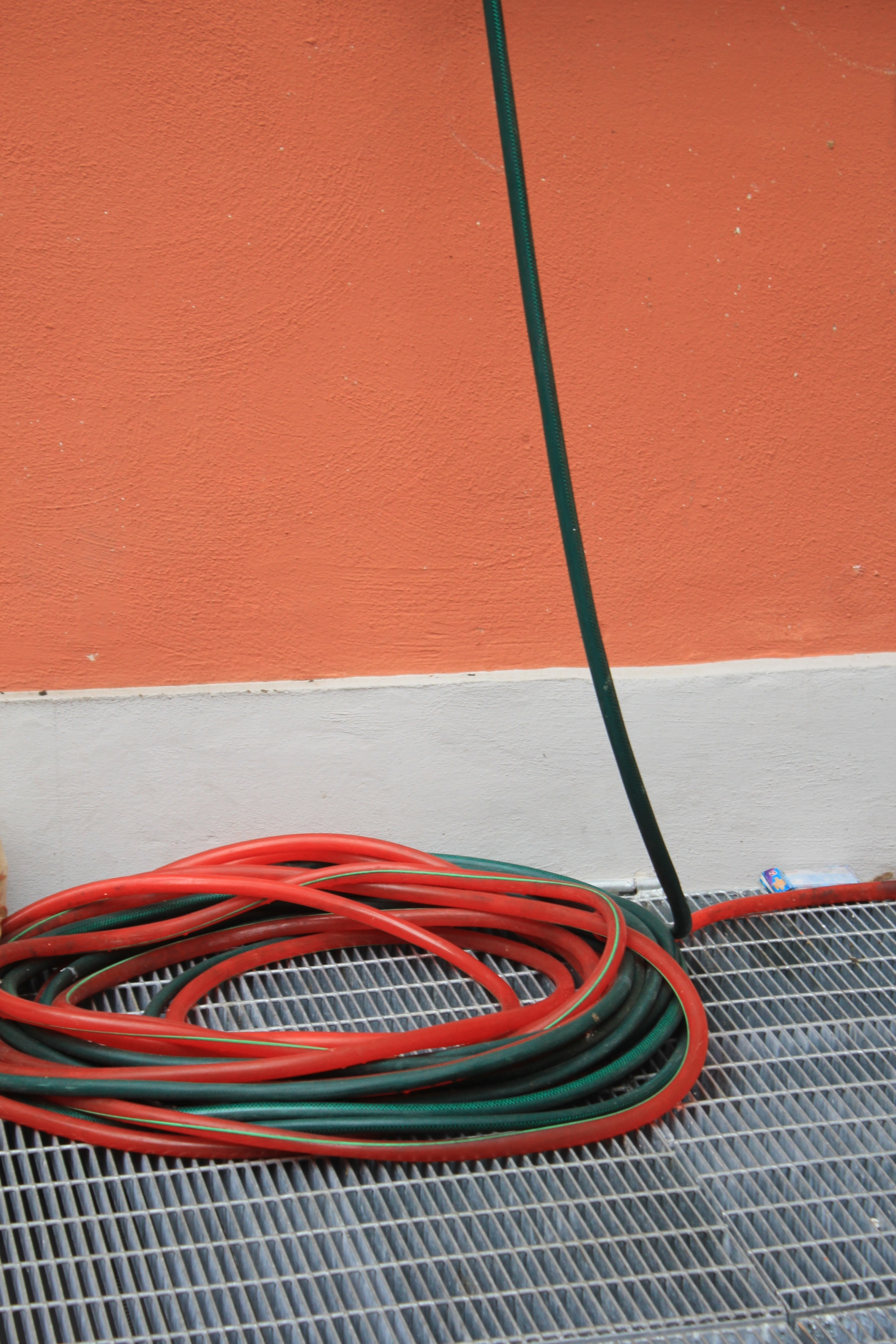 Bologna Italy Orange Green Red Color Palette Hose