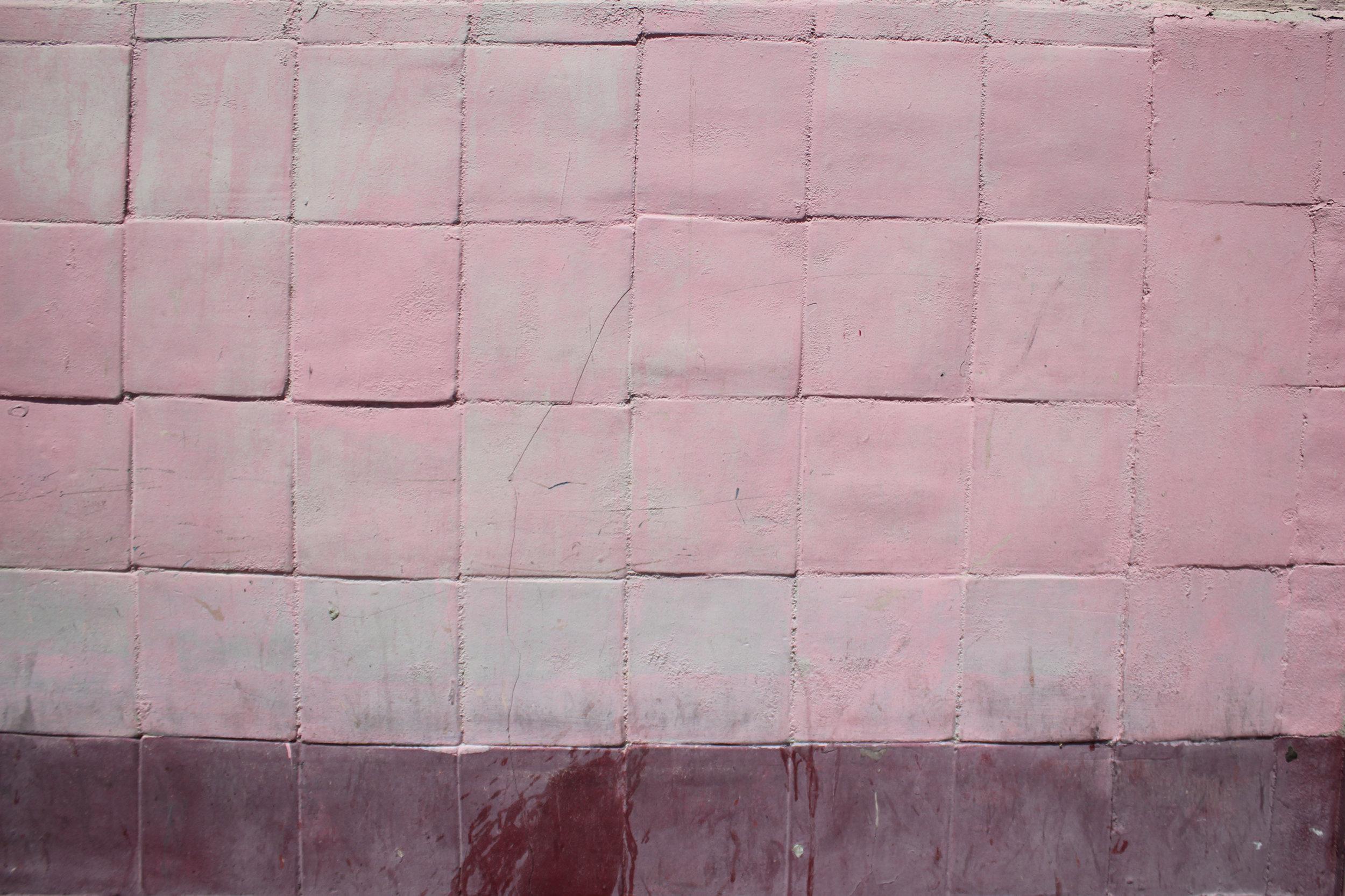 El Paso Texas Pink Tiles The Colorist Sophia N. Ahmad
