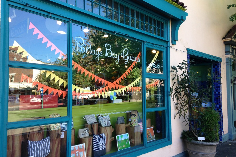 The gift shop for the thoughtful procrastinator! Located in the heart of the Fremont neighborhood in Seattle.
