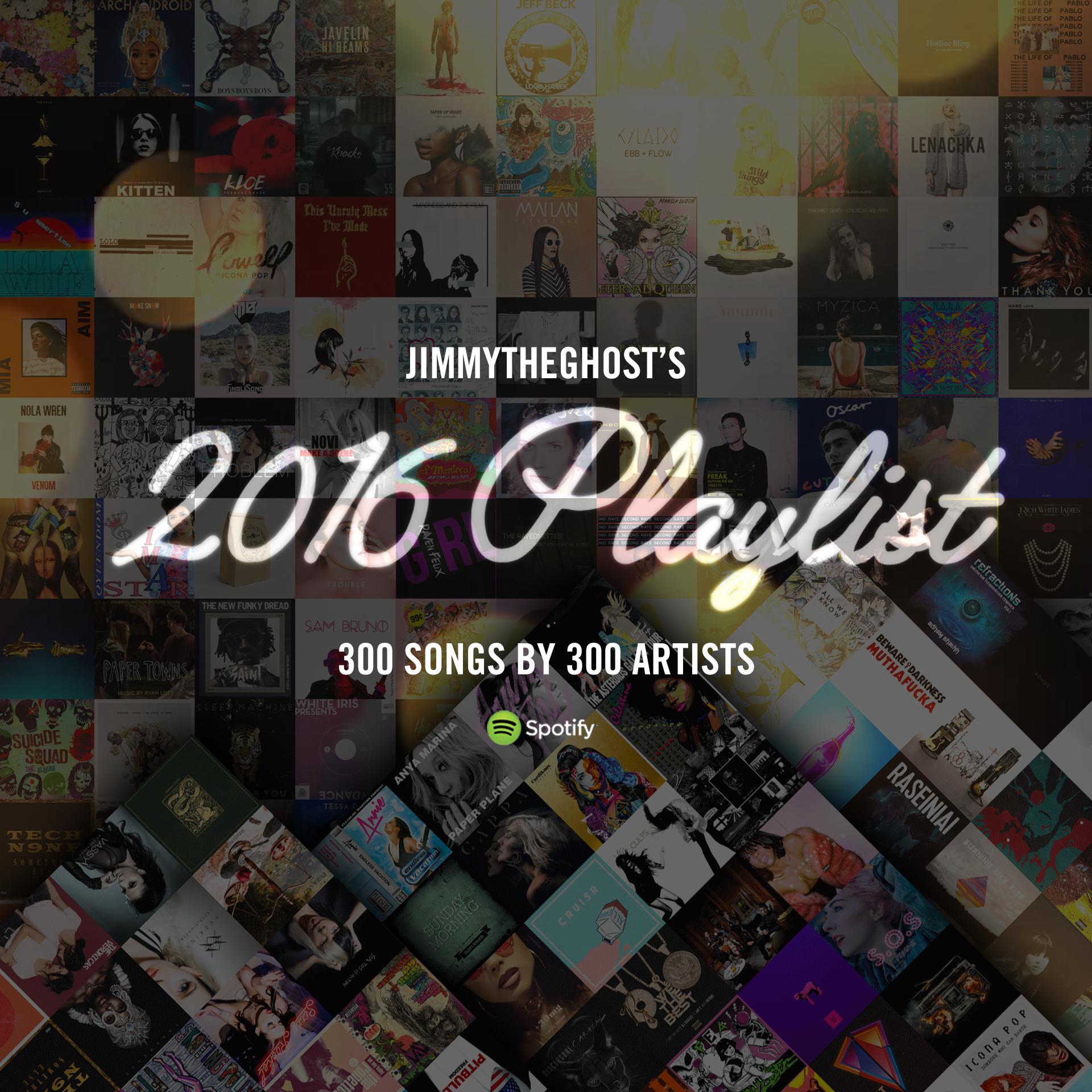 The 2016 PLaylist -