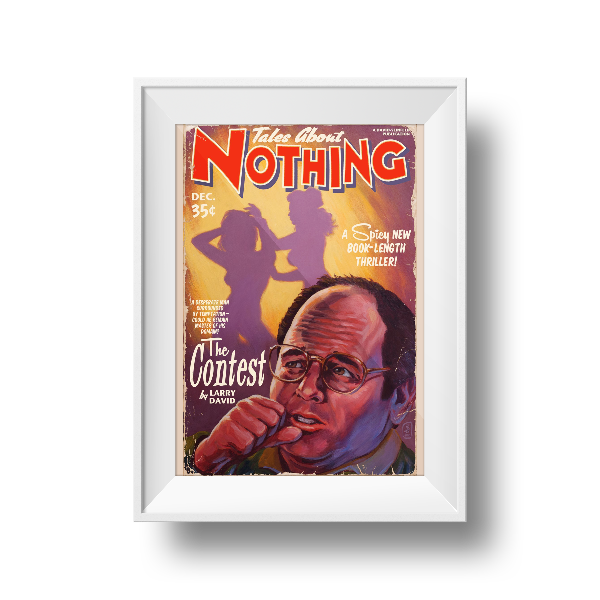 Tales About Nothing: The Contest | Stephen Andrade | 11 x 17