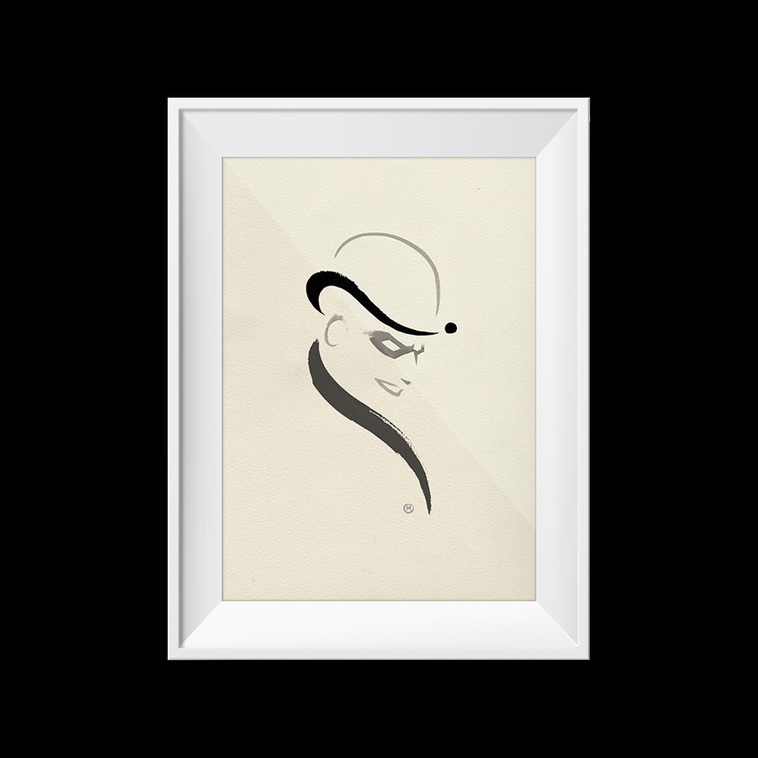 Riddler | Olly Moss | 8 x10