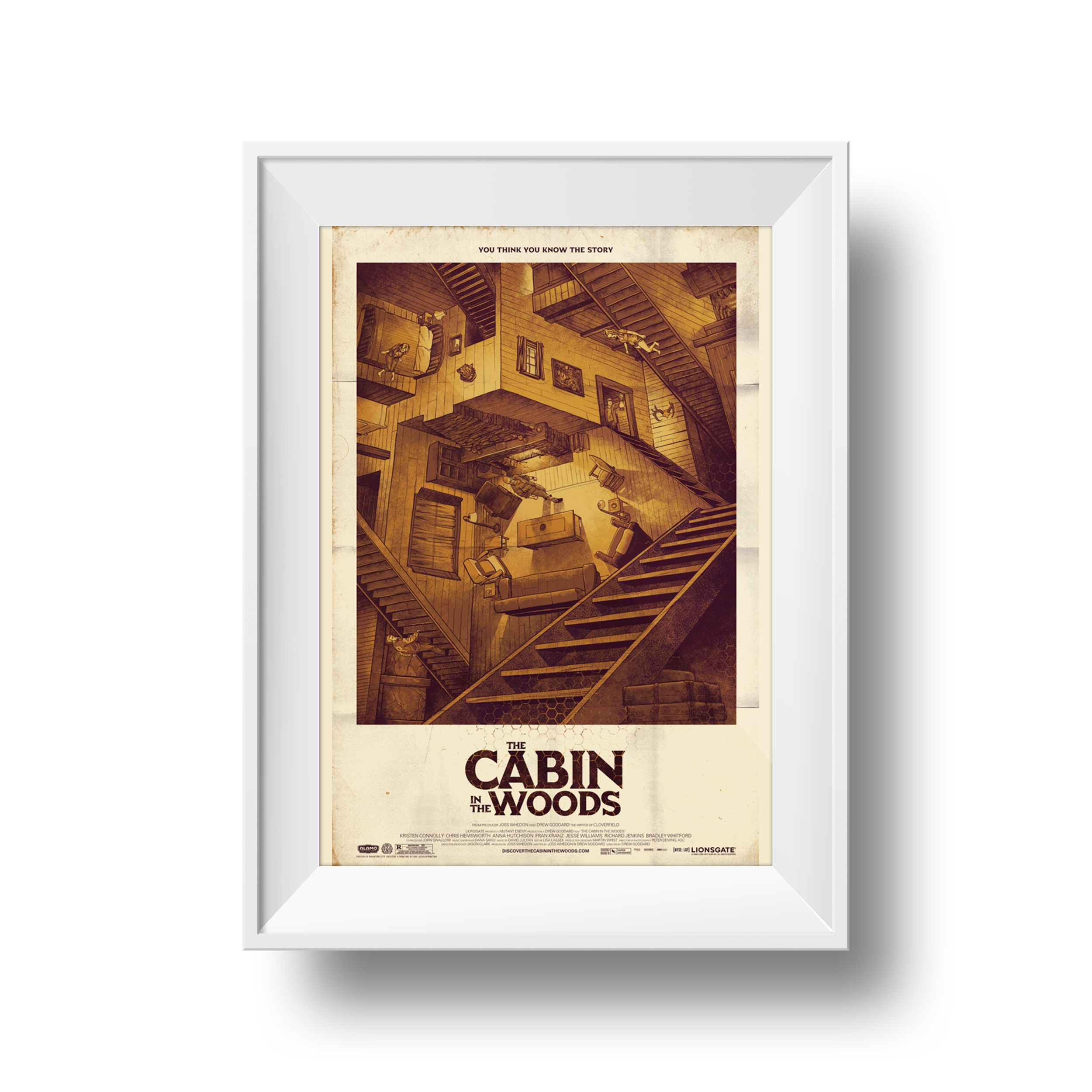 Cabin in the Woods | Phantom City Creative | 24 x 36