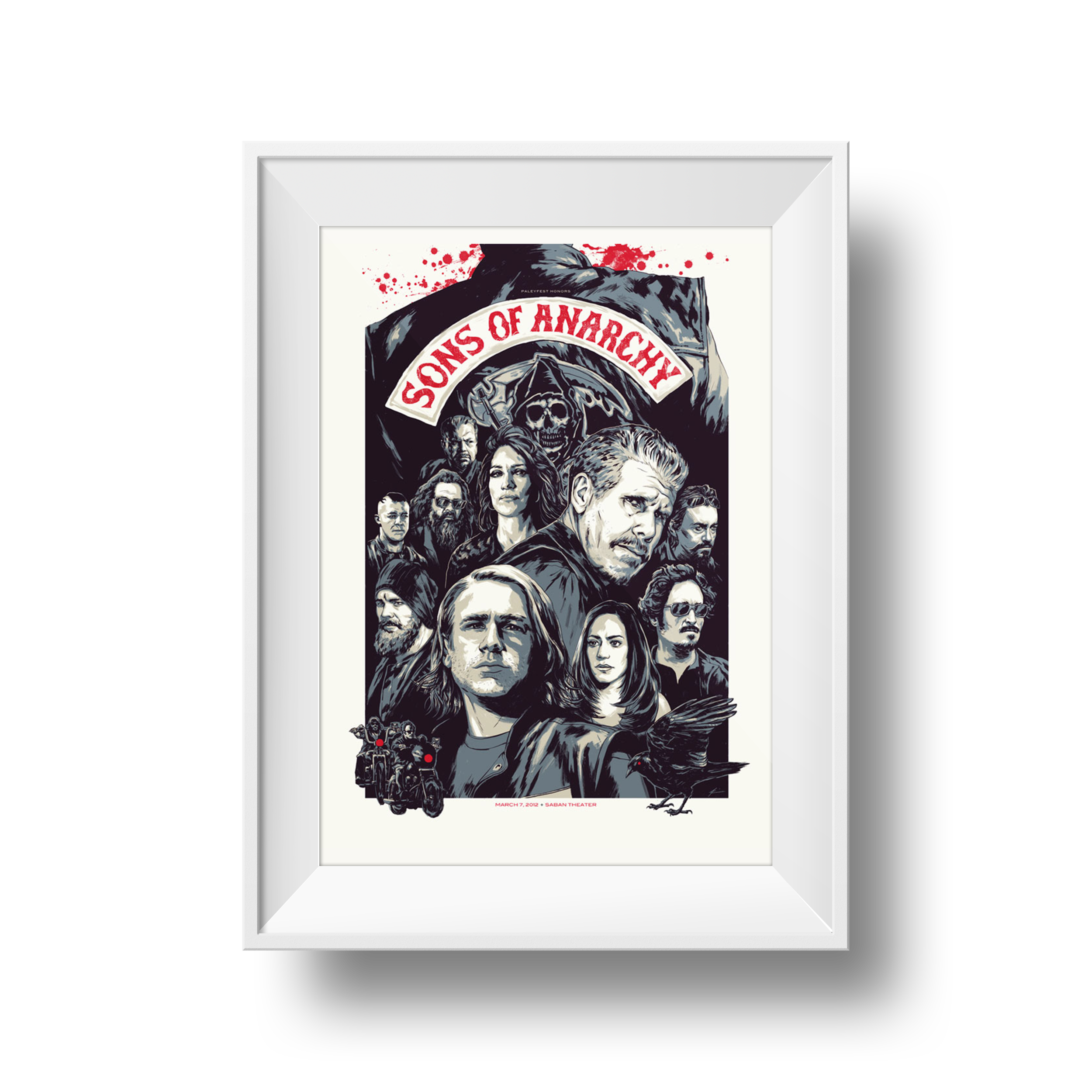 Sons of Anarchy | Phantom City Creative | 24 x 36
