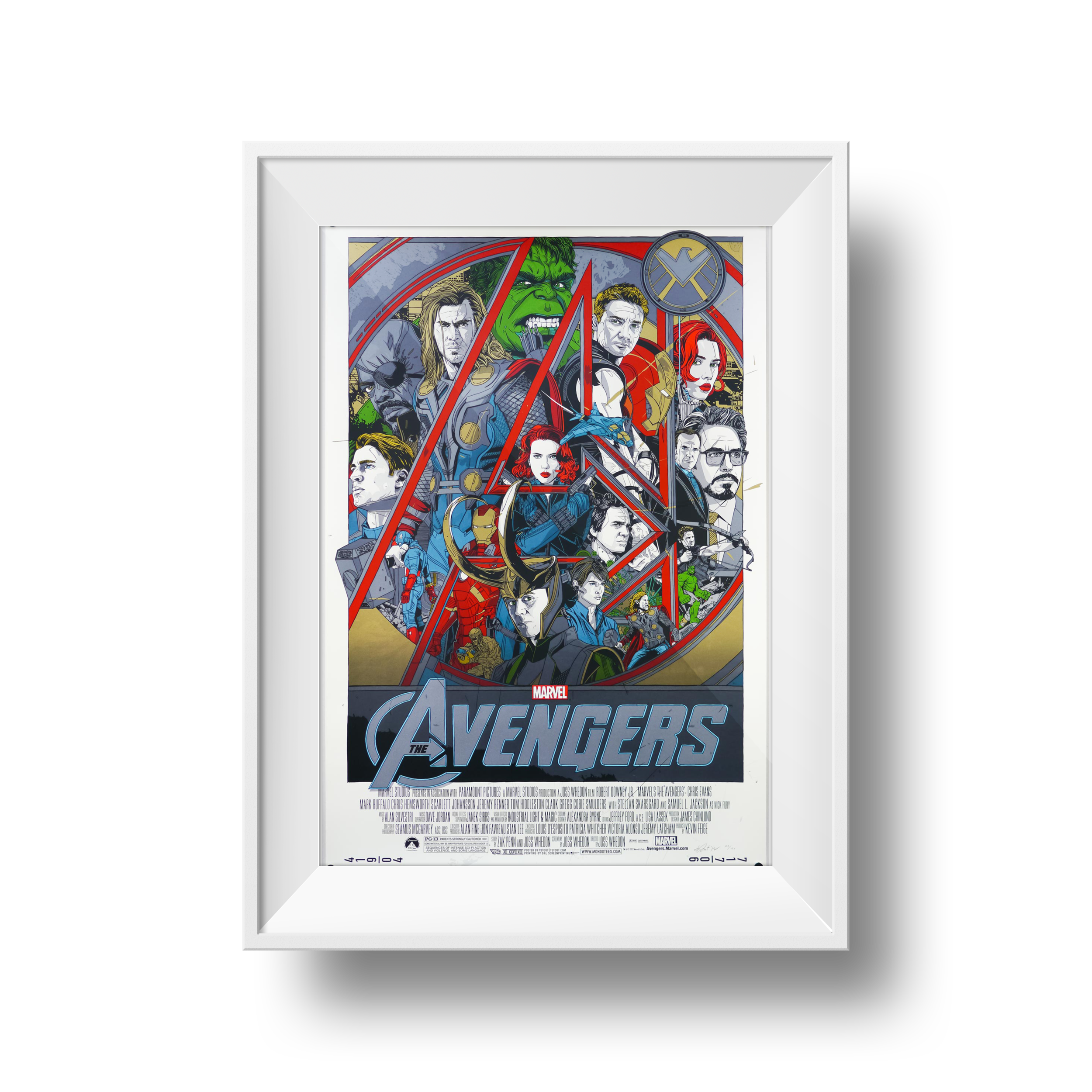 The Avengers | Tyler Stout | 24 x 36