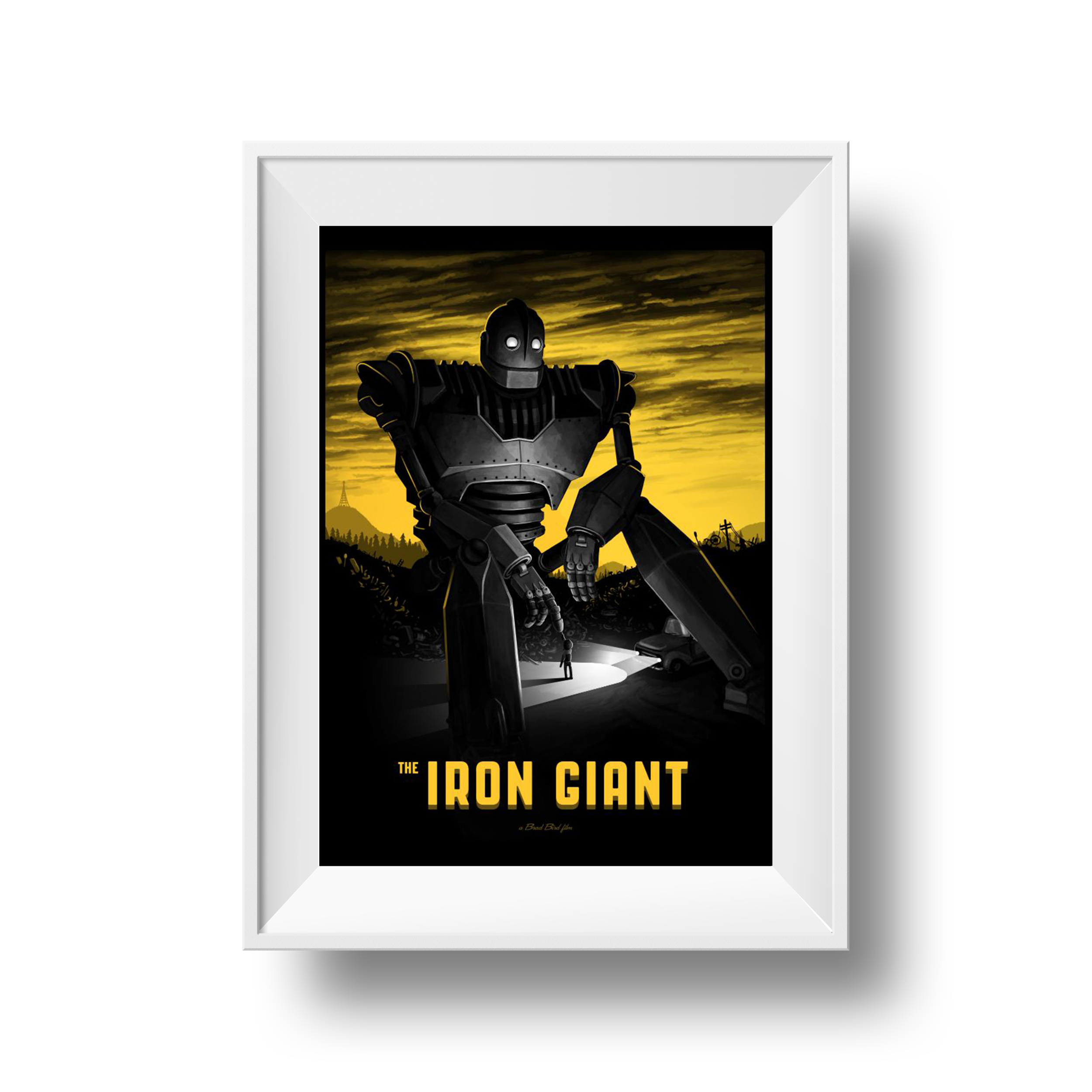 The Iron Giant | Mike Mitchell | 18 x 24