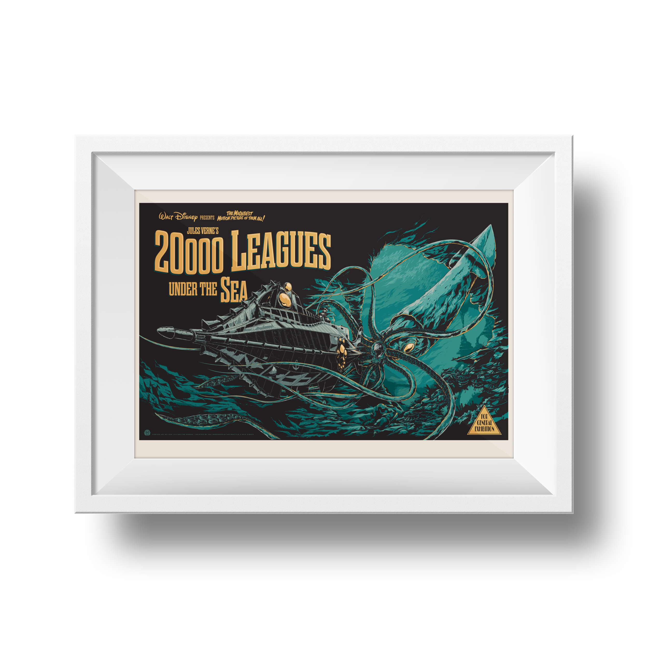 20,000 Leagues Under The Sea | Ken Taylor | 24 x 36
